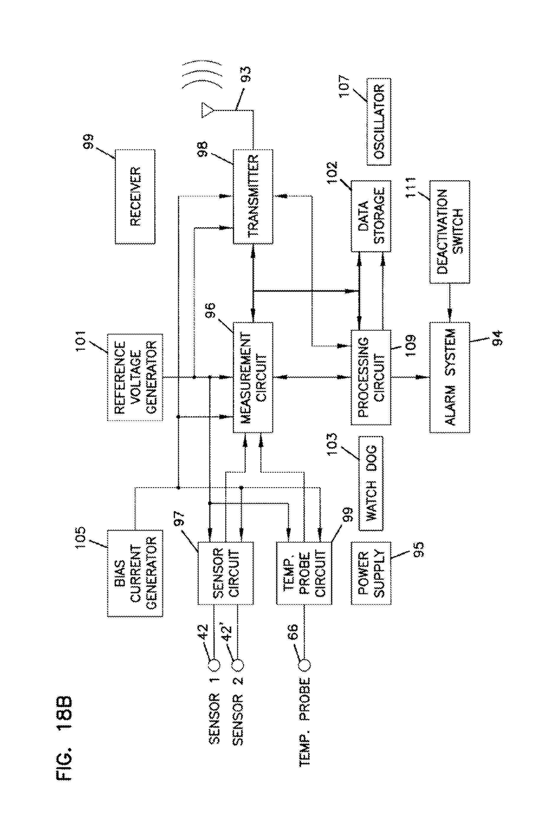 Us20070203408a1 Analyte Monitoring Device And Methods Of Use Door Knob Touch Alarm Circuit Controlcircuit Diagram Google Patents