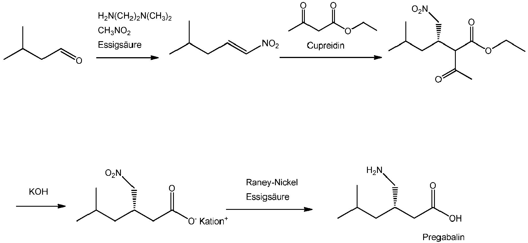 EP3088383A1 - Optimized synthesis of pregabalin and 4-amino