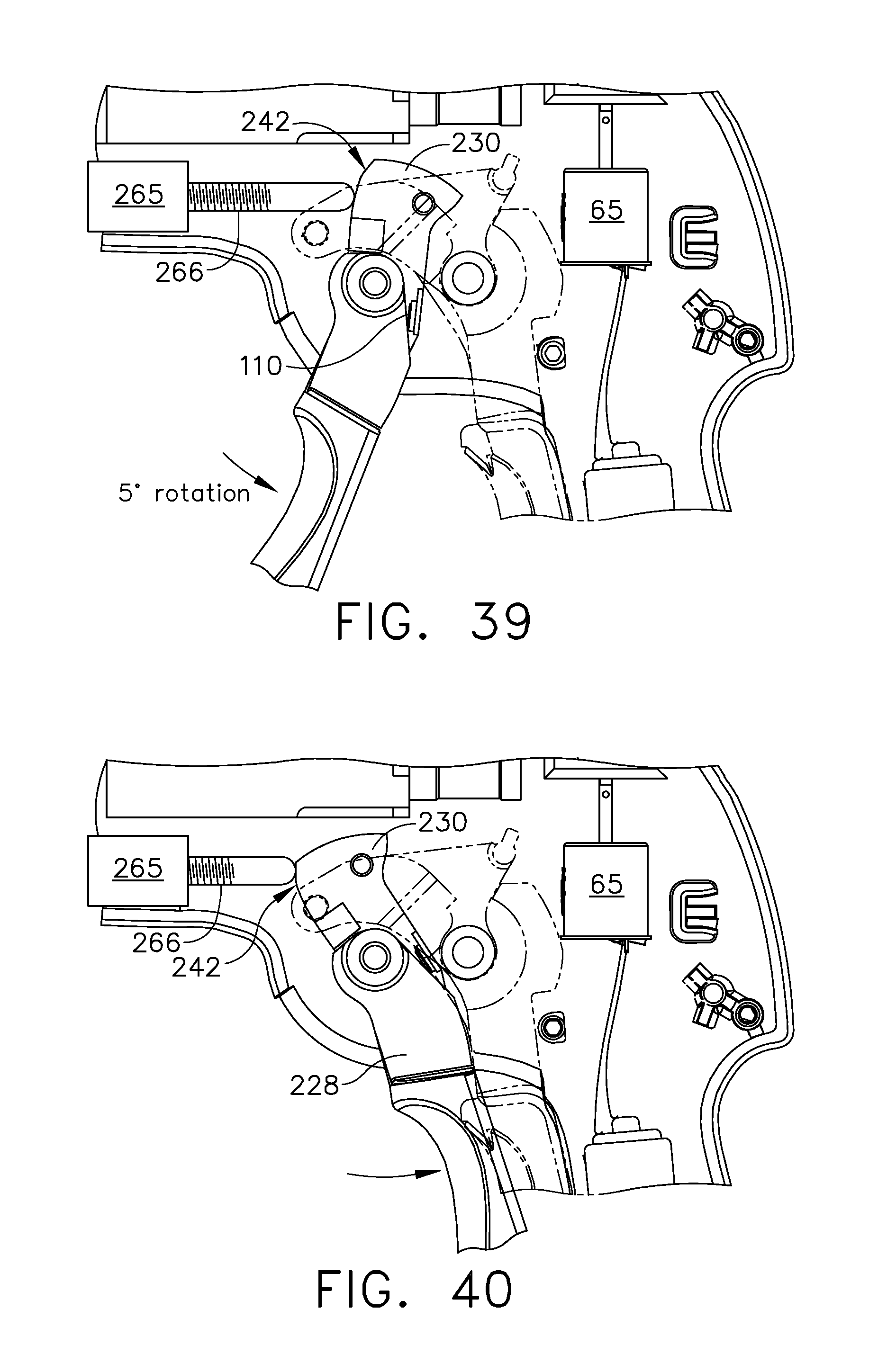 Us8292155b2 Motor Driven Surgical Cutting And Fastening Instrument Starion Engine Diagram With Tactile Position Feedback Google Patents