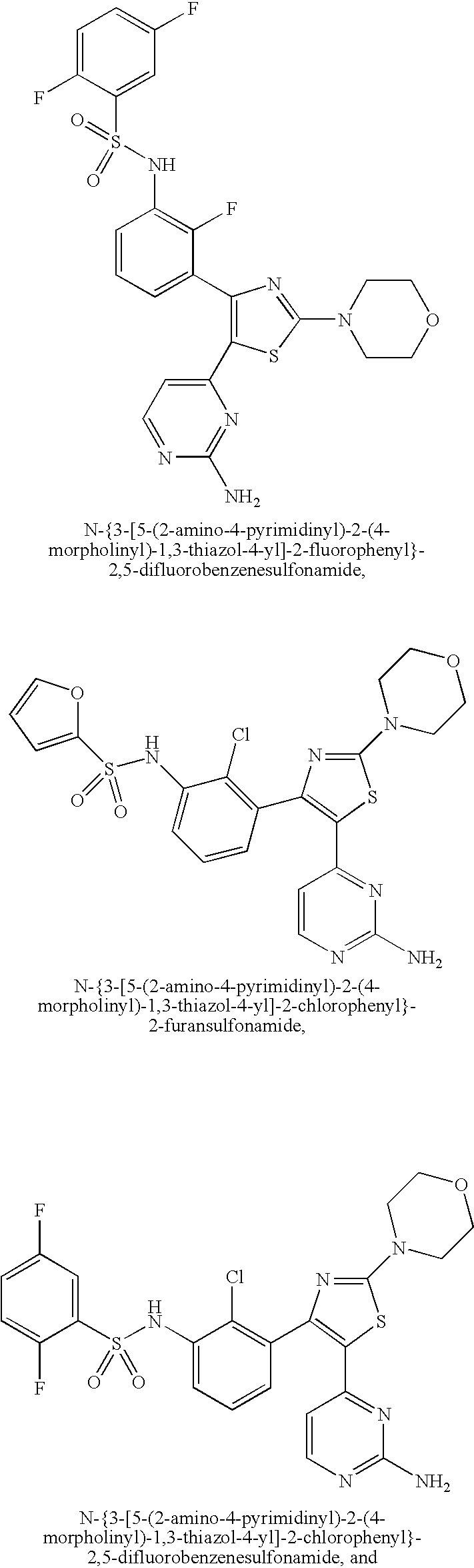 Us20090298815a1 Benzene Sulfonamide Thiazole And Oxazole Compounds Bolens G174 Wiring Diagram Figure 20091203 C00013