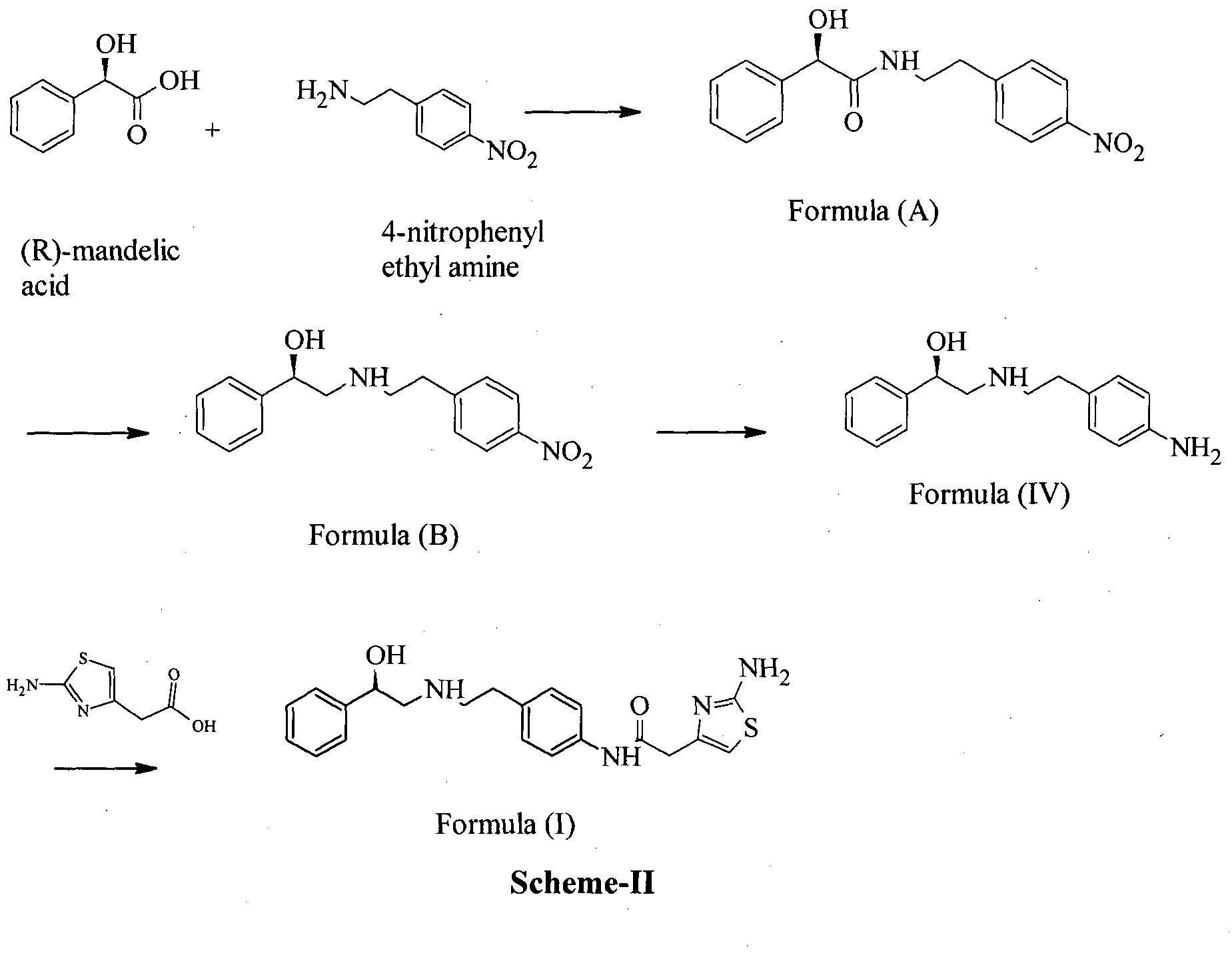 WO2016024284A2 - A process for the preparation of mirabegron
