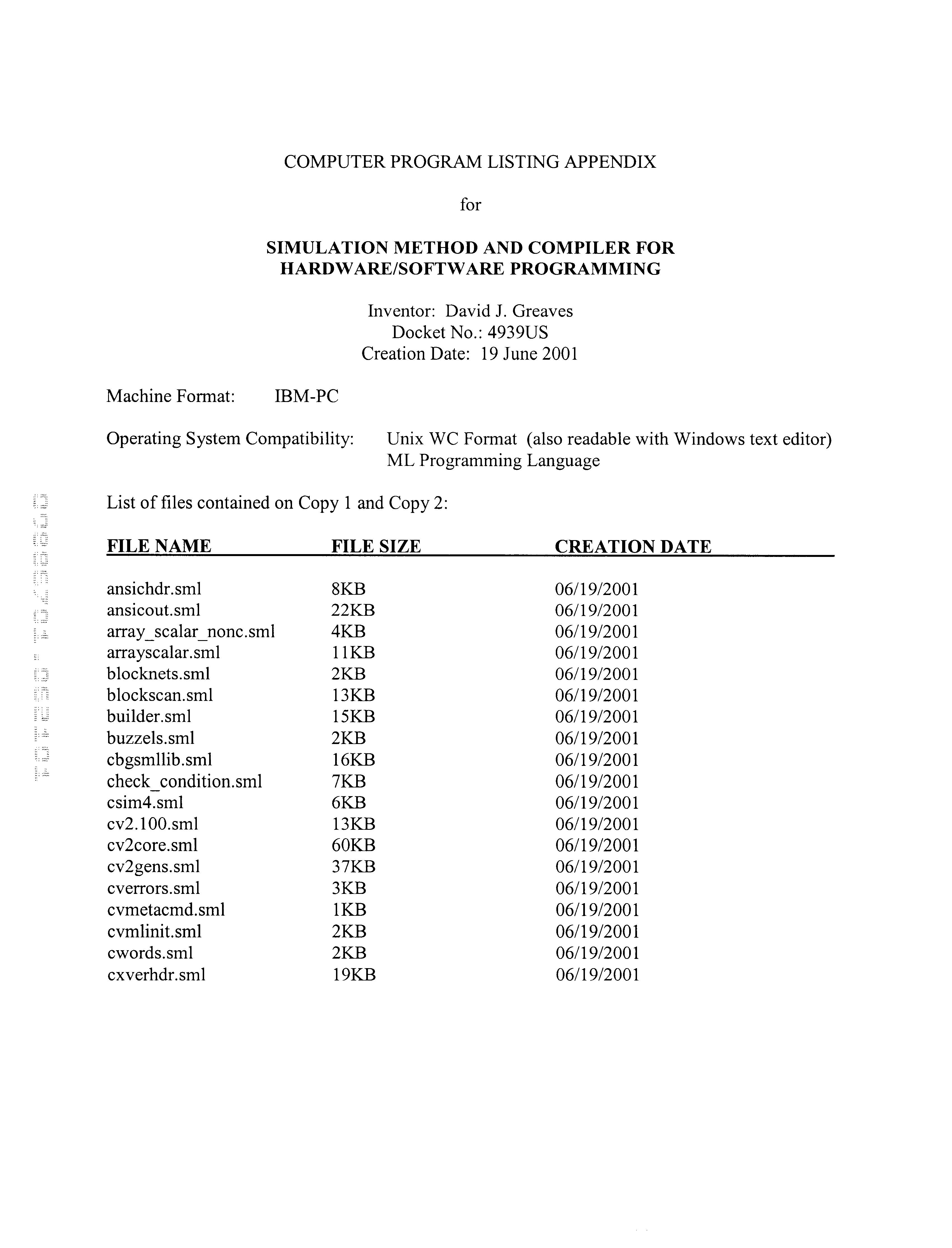 Figure US06606734-20030812-P00001