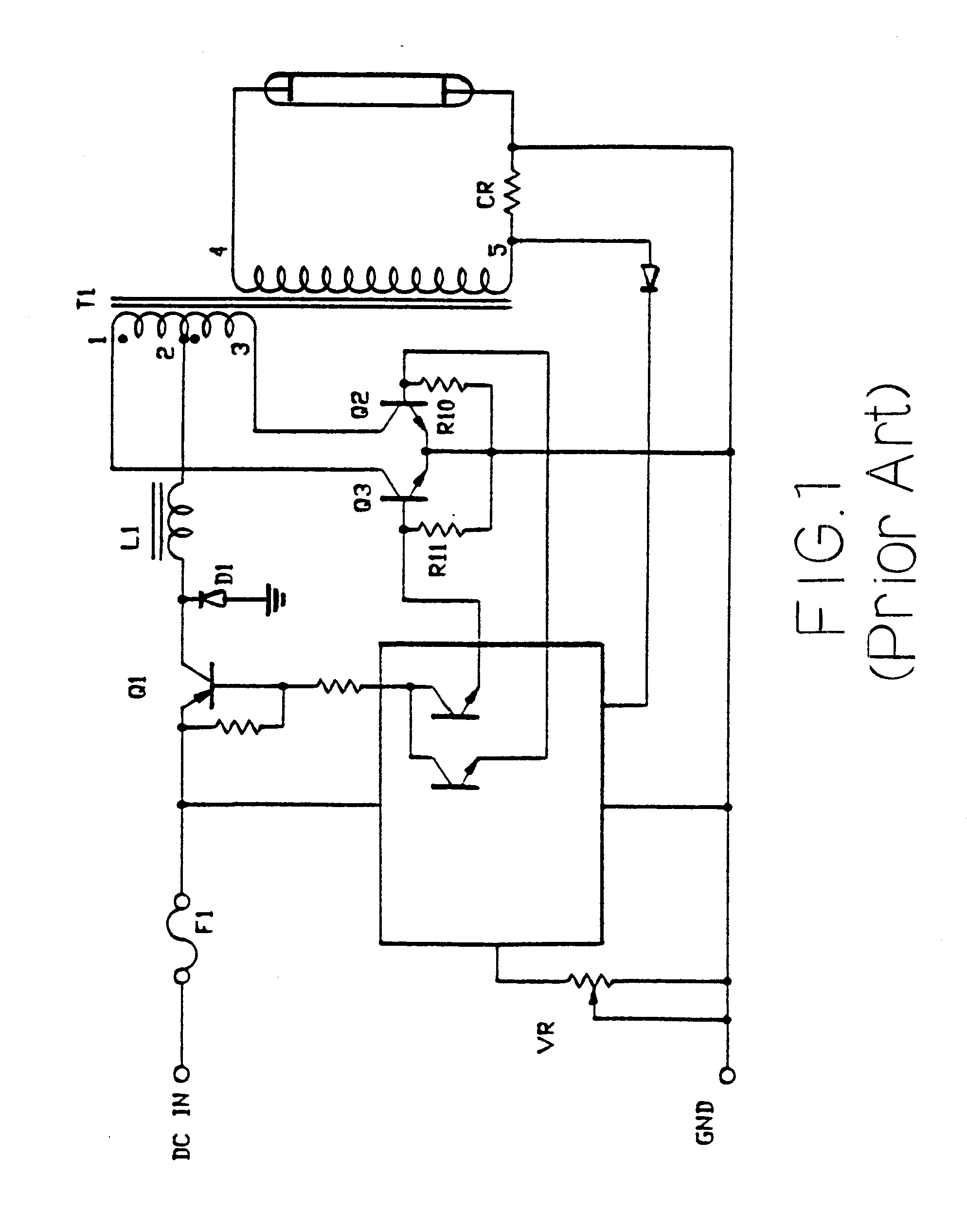 Us6583586b1 Brightness Regulating Voltage Transforming Circuit Energy Saving Lamp Diagram Controlcircuit For High Pressure Discharge Google Patents