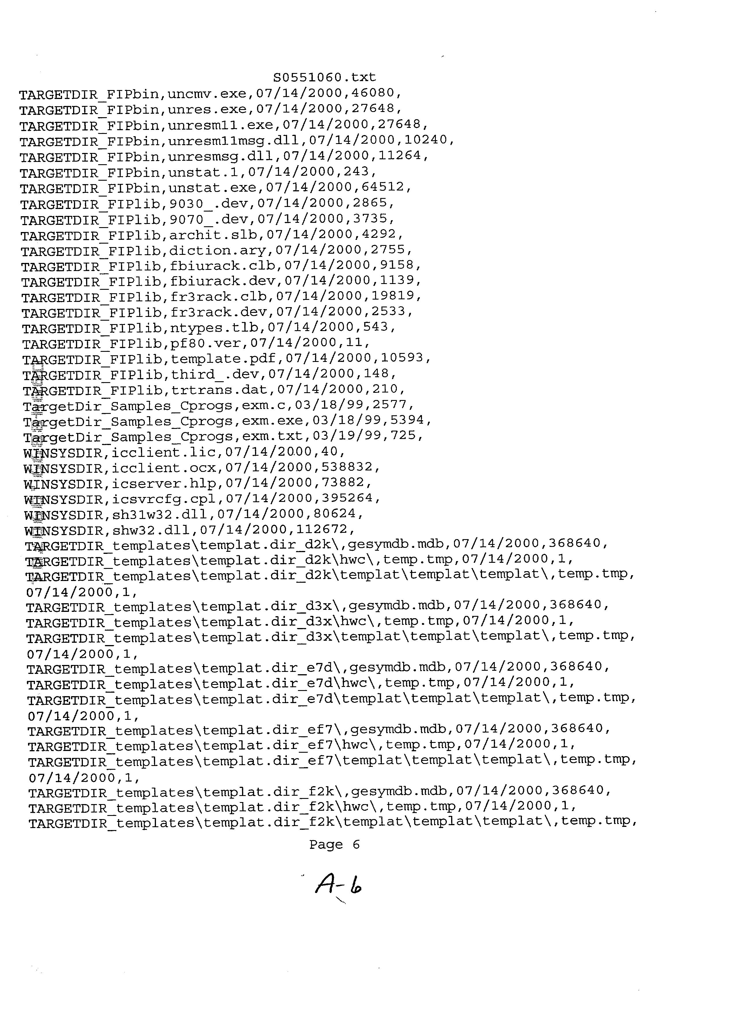 Figure US20030051235A1-20030313-P00007