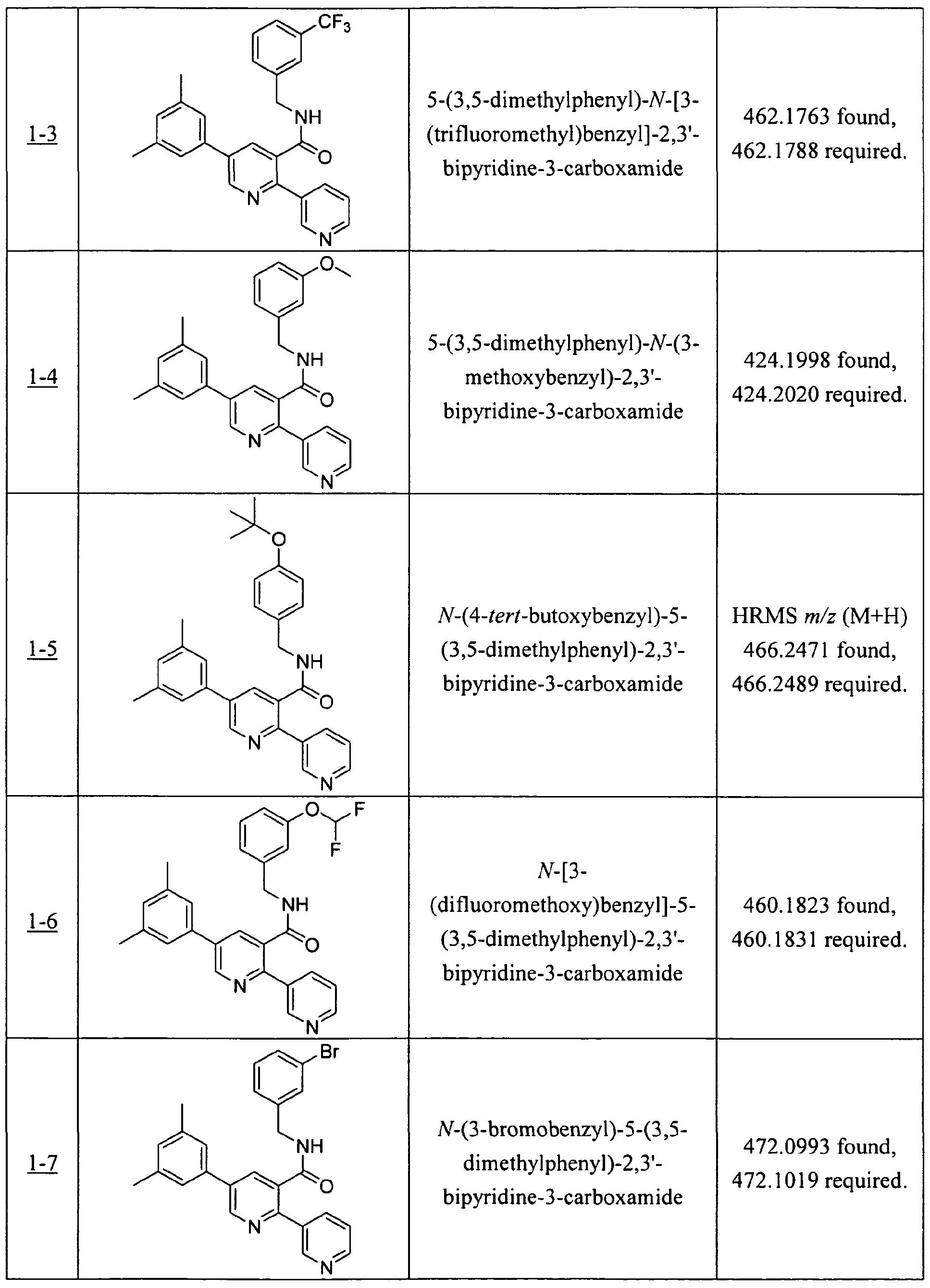 WO2008108991A1 - Bipyridine carboxamide orexin receptor