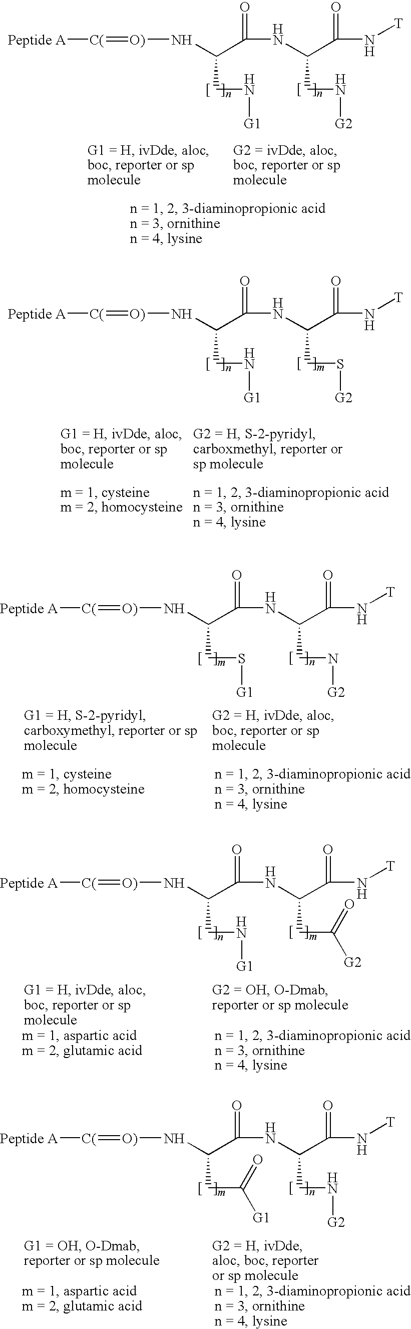 US7666979B2 - Methods for preparing multivalent constructs for therapeutic  and diagnostic applications and methods of preparing the same - Google  Patents