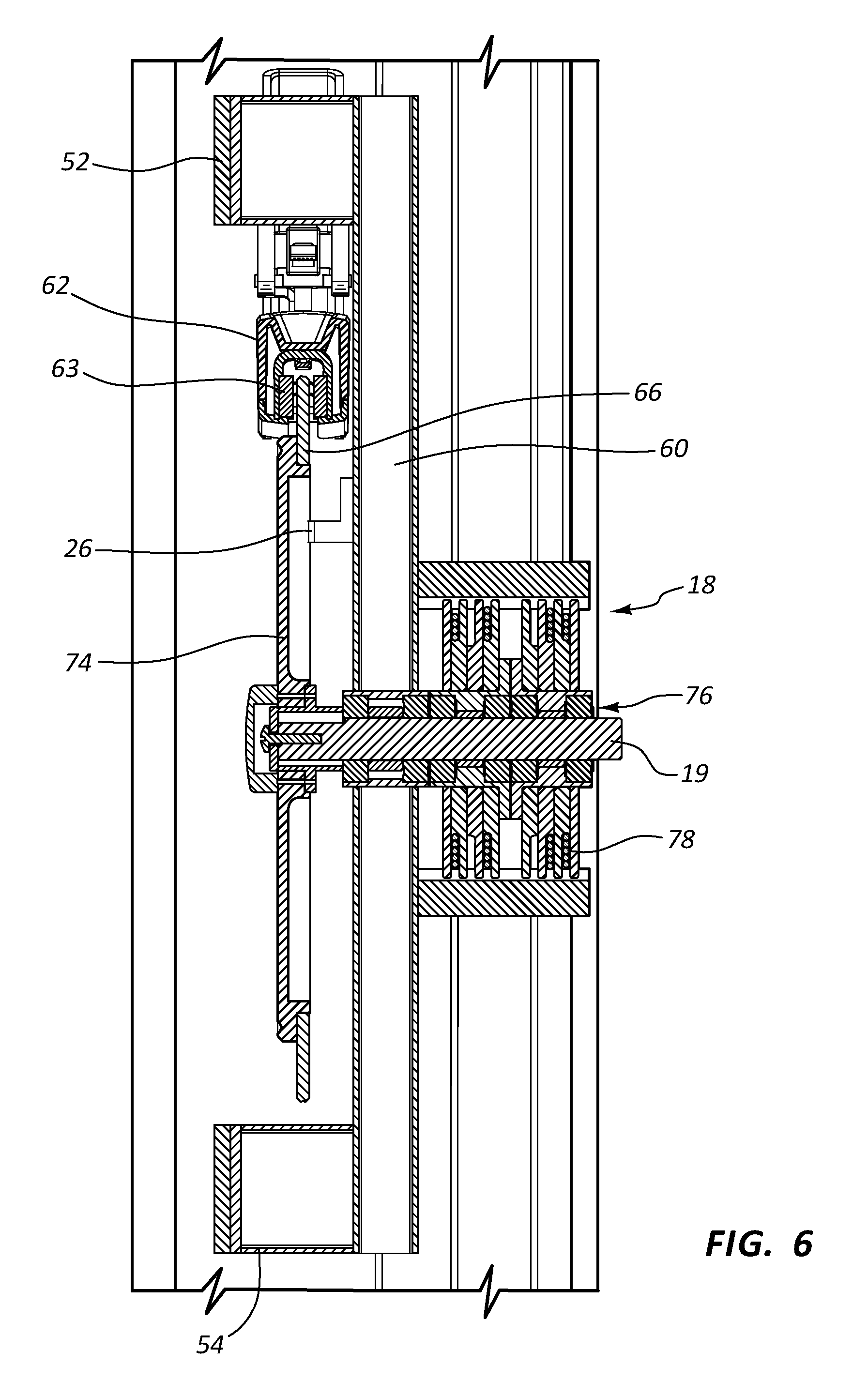 US9403047B2 - Magnetic resistance mechanism in a cable