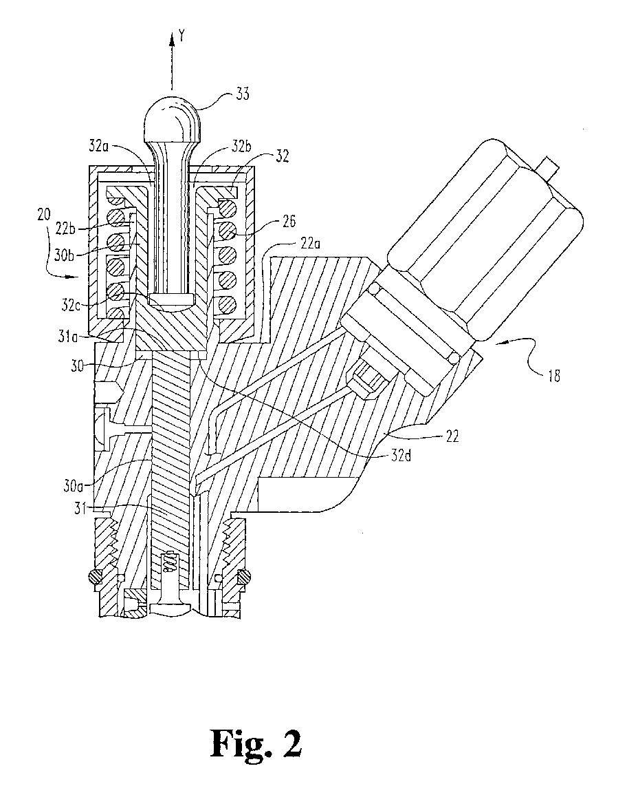 ep0738830a1 apparatus for receiving a cl ing load to secure a Fuel Injector Nozzle figure imgaf001