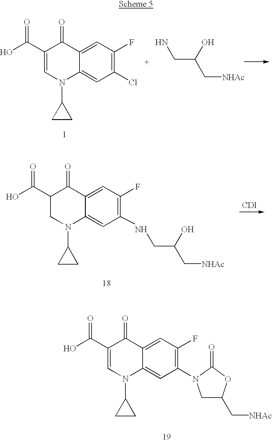 US20030013737A1 - Antimicrobial quinolone derivatives and use of the