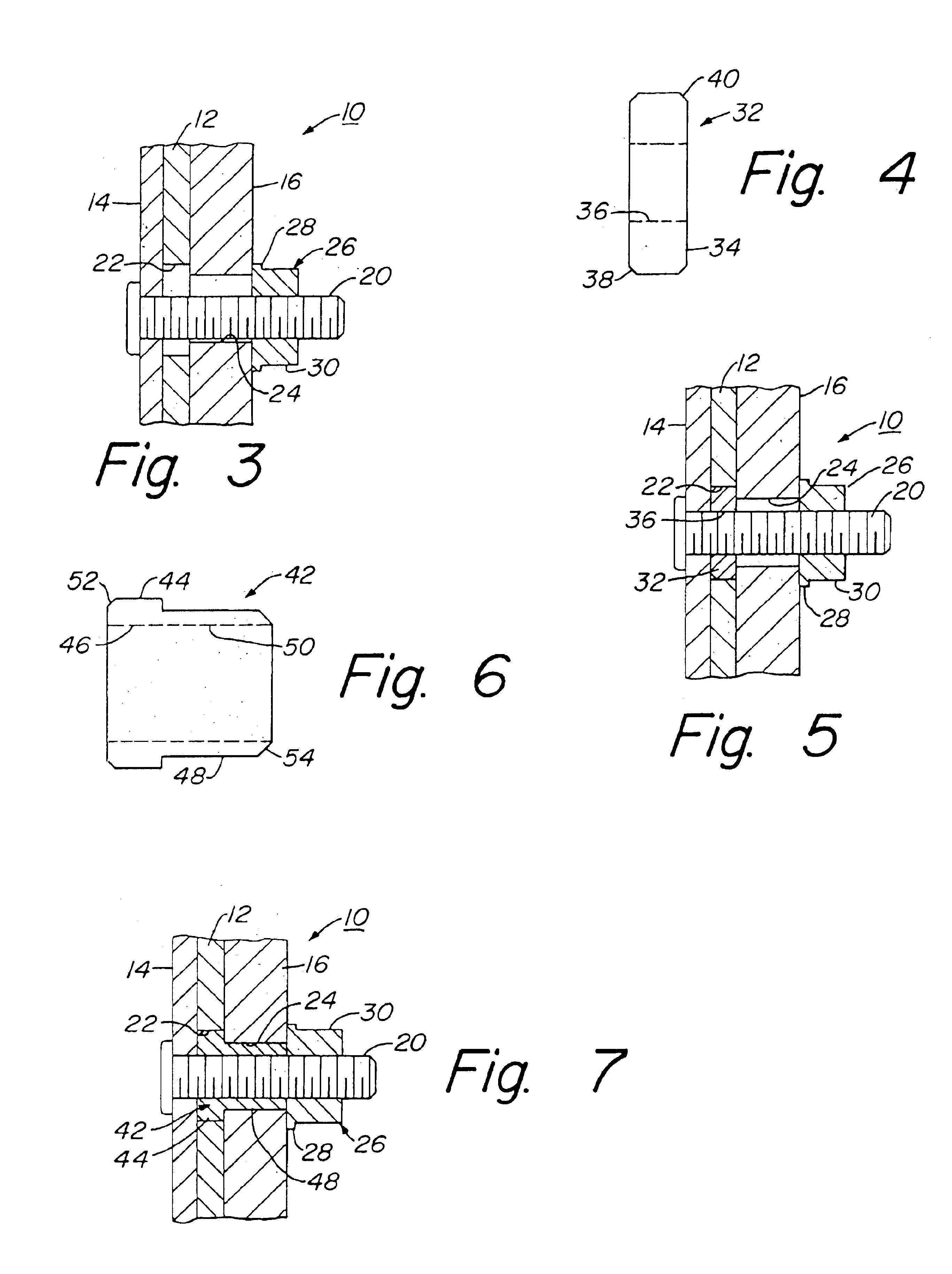 us6715843b2 wheel mounting assembly and method patents GM 10 Bolt Axle Diagram