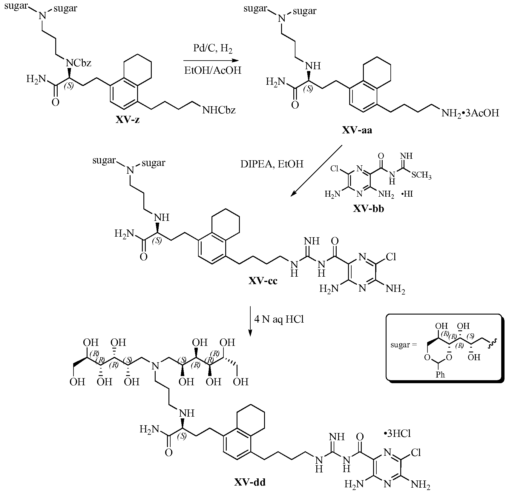 WO2014099673A1 - 3,5-diamino-6-chloro-n-(n-(4-phenylbutyl