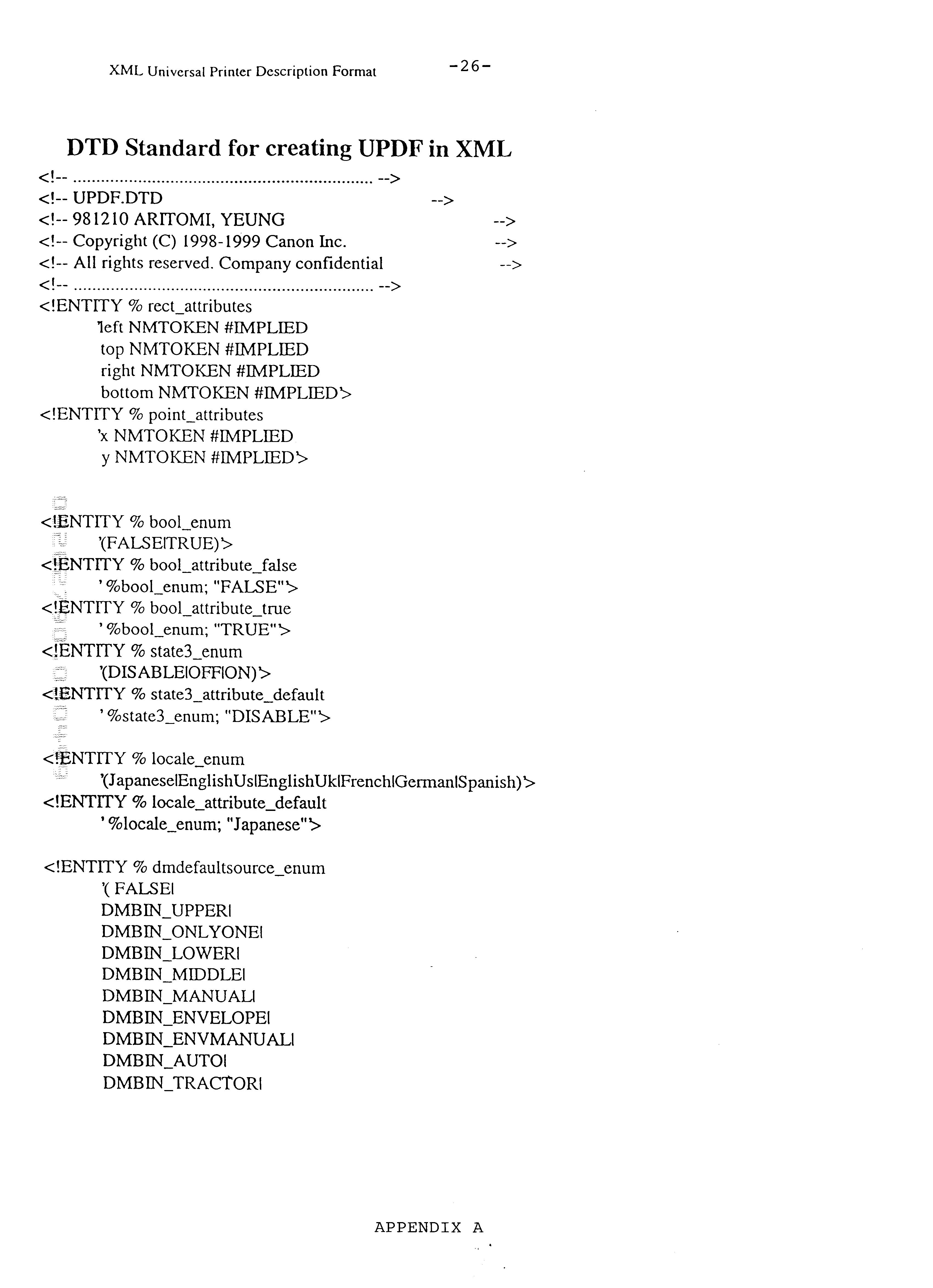 US6426798B1 - Data structure for printer description file - Google