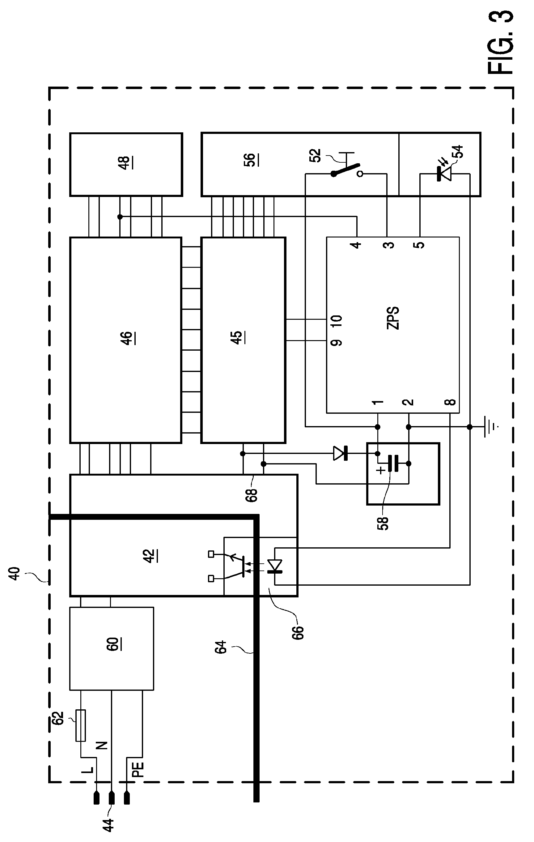 EP1231698A2 - Stand-by circuit for an electric apparatus ... on