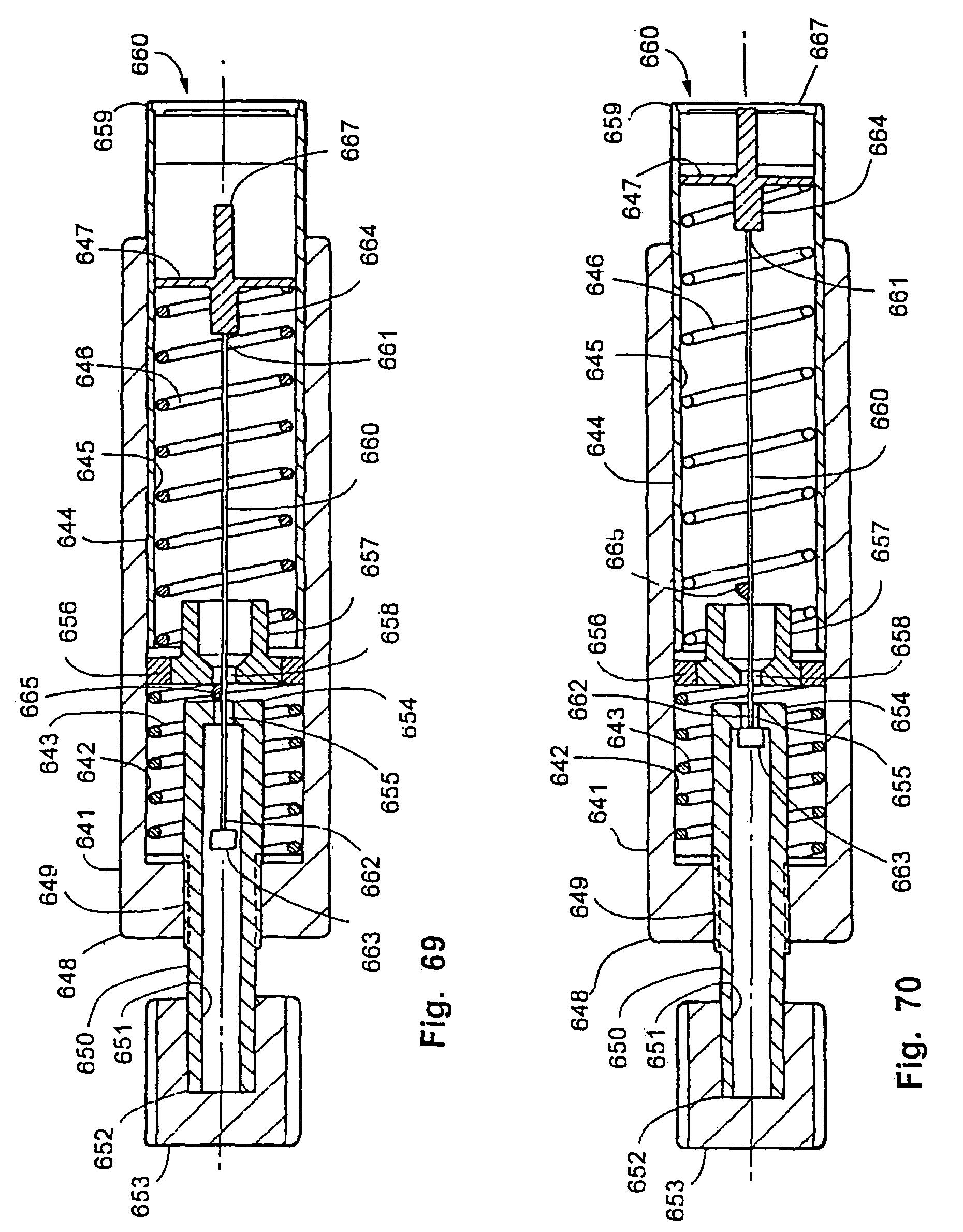 US7981055B2 - Tissue penetration device - Google Patents