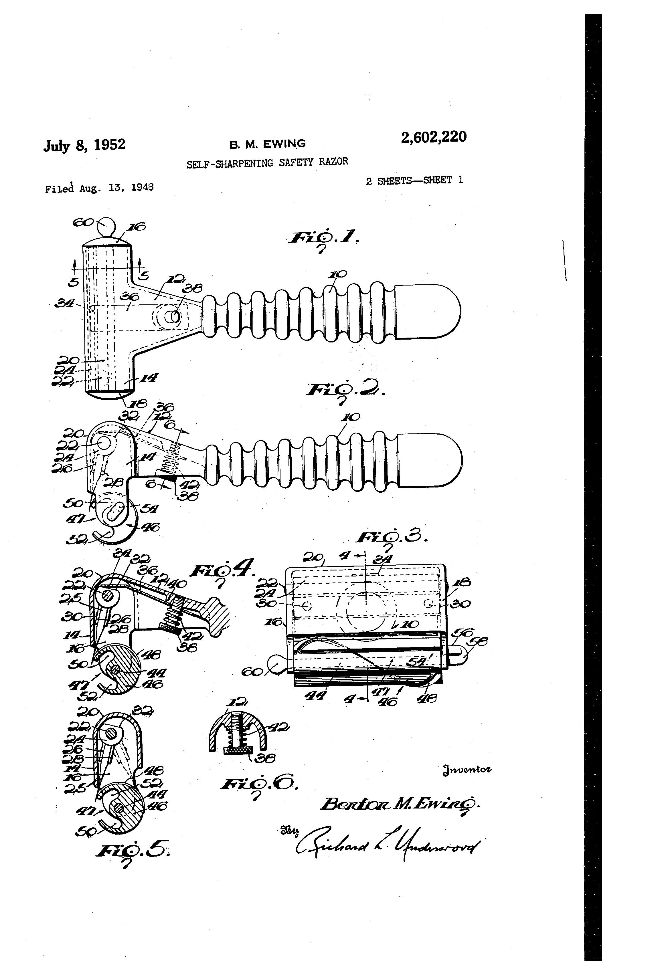 [Image: US2602220-drawings-page-1.png]