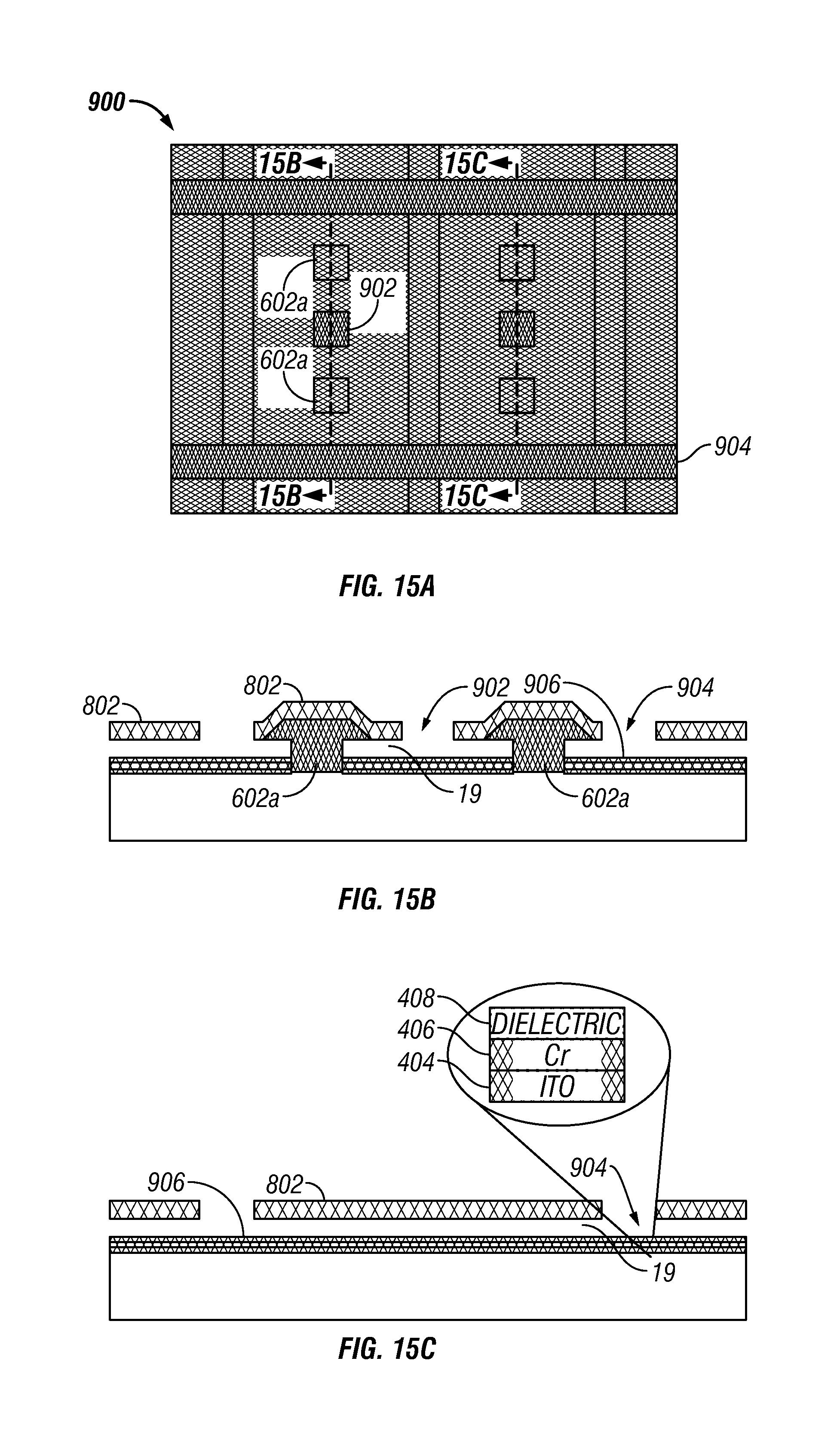 US7906353B2 - Method of fabricating interferometric devices