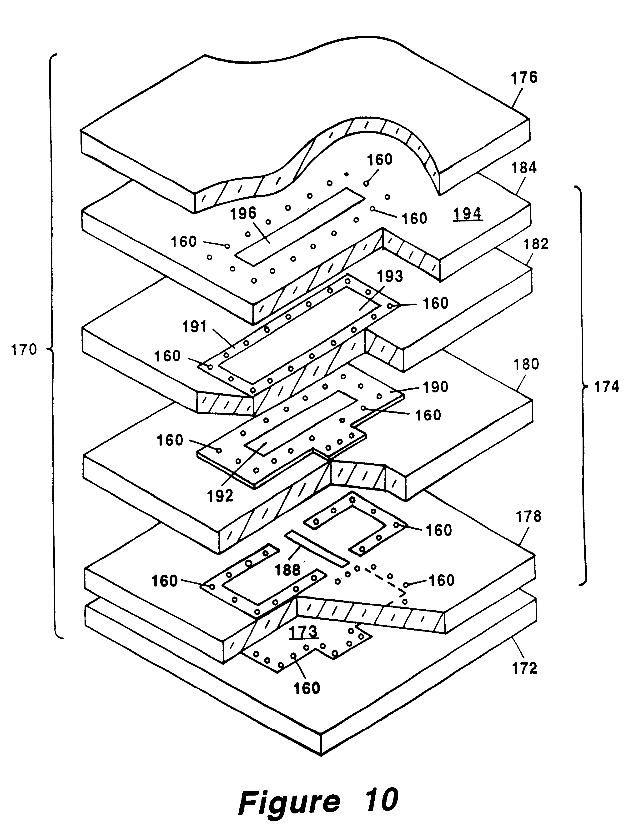 US6492949B1 - Slot antenna element for an array antenna ... on