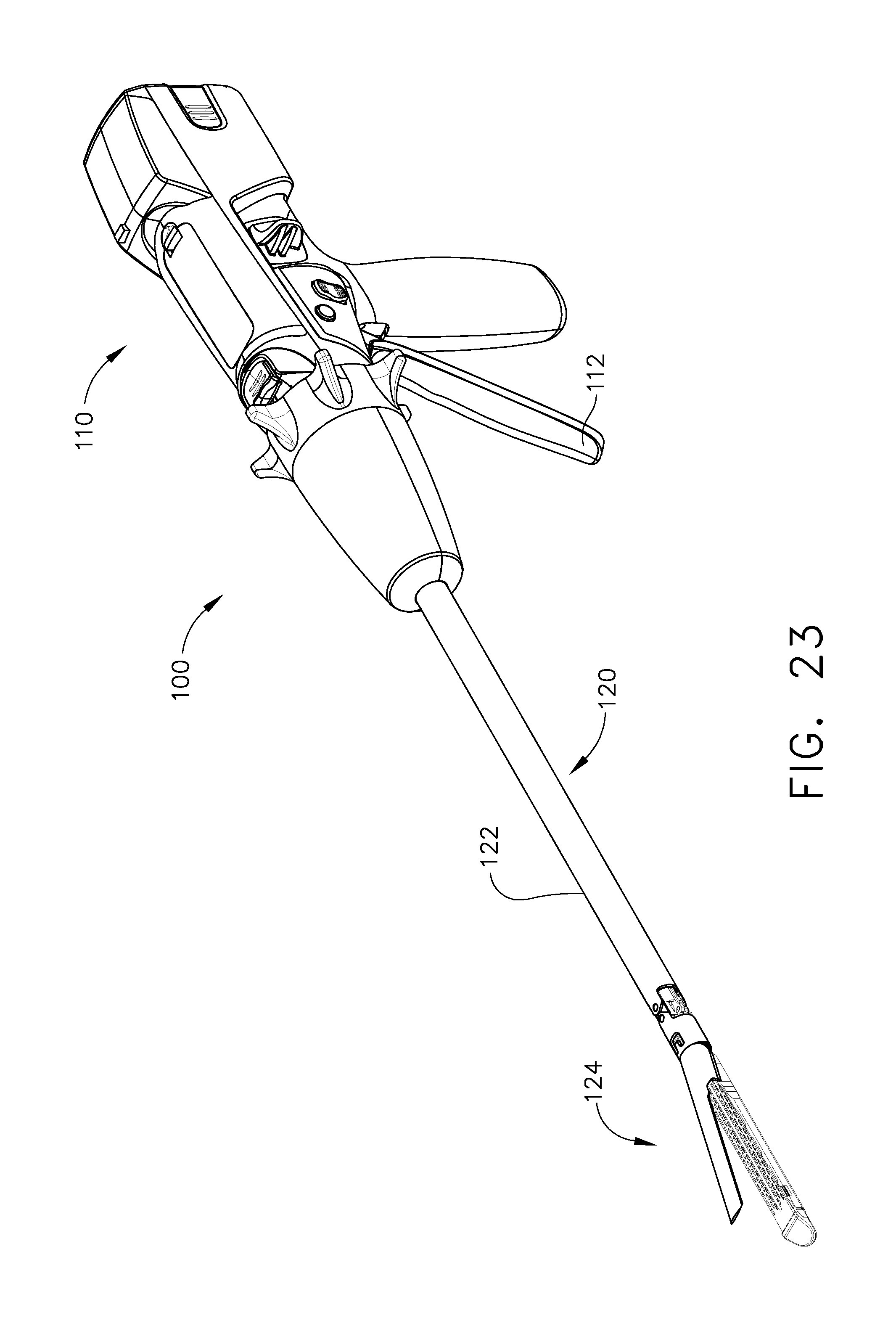 US B2 Surgical instrument prising interactive systems