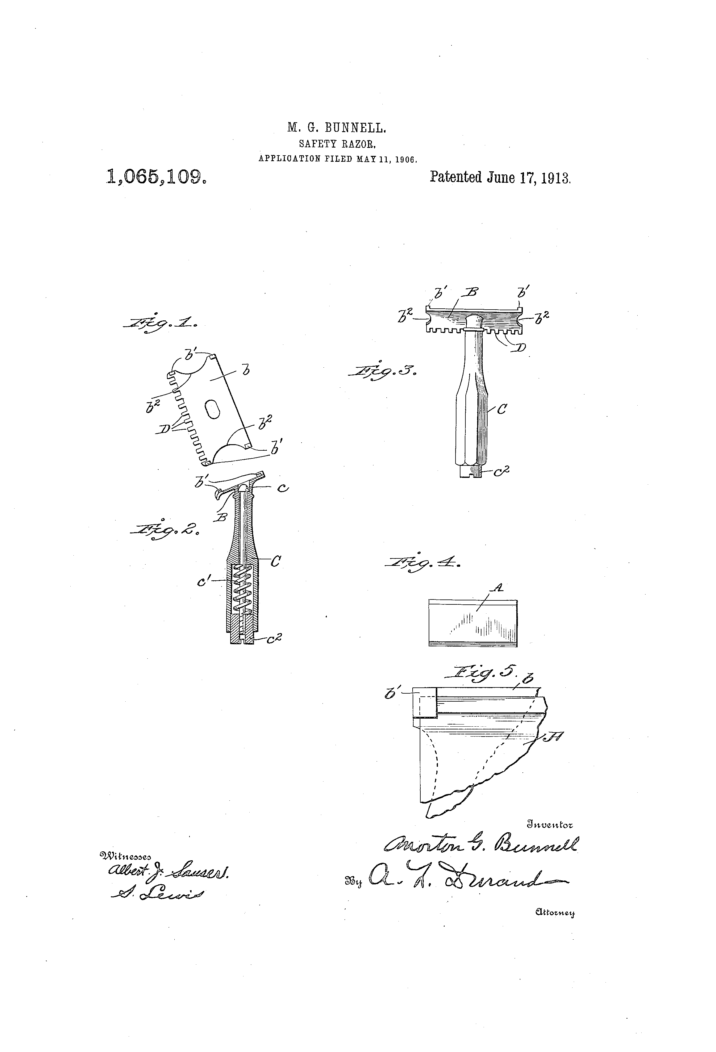 [Image: US1065109-drawings-page-1.png]