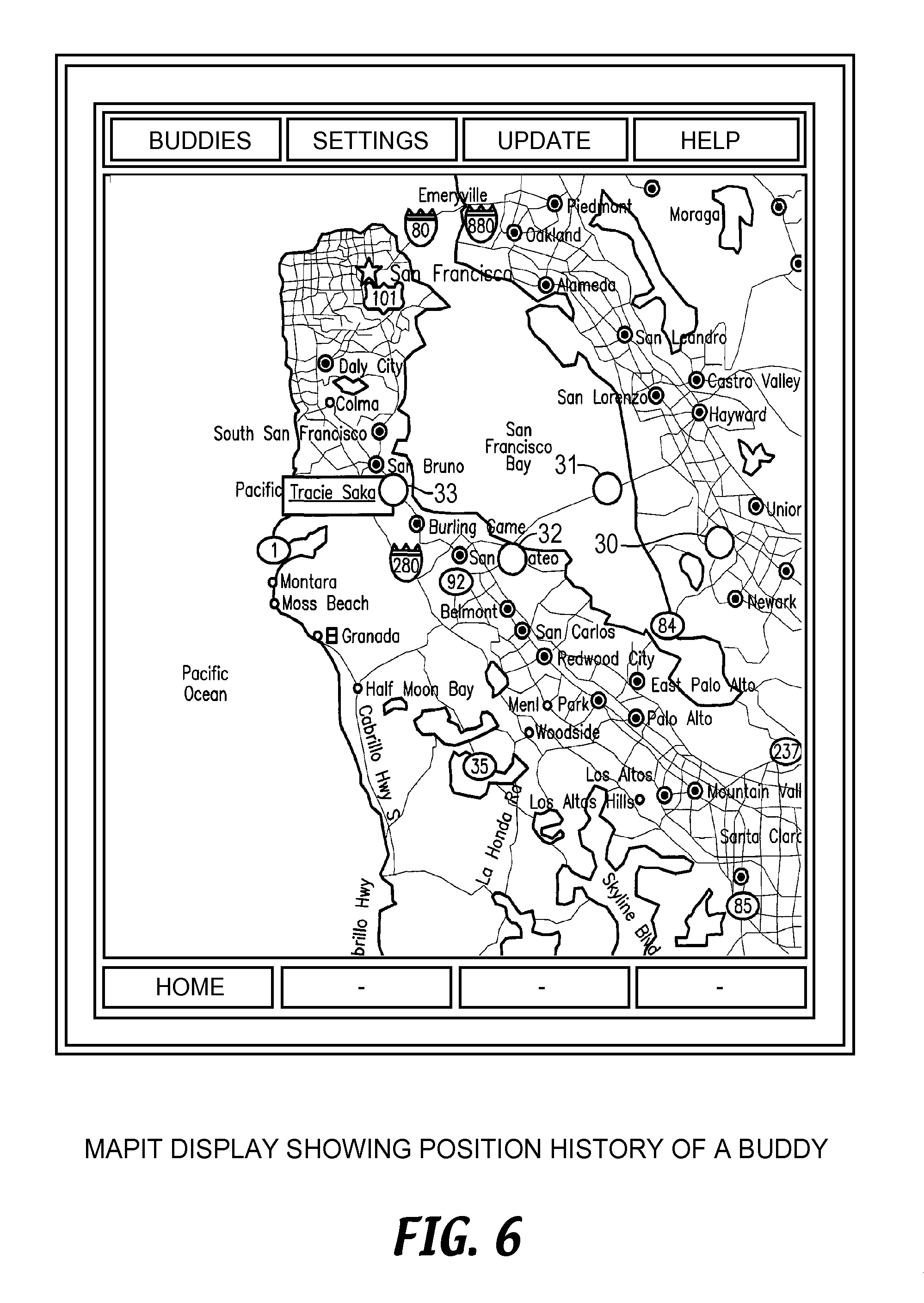 US8750898B2 - Methods and systems for annotating target