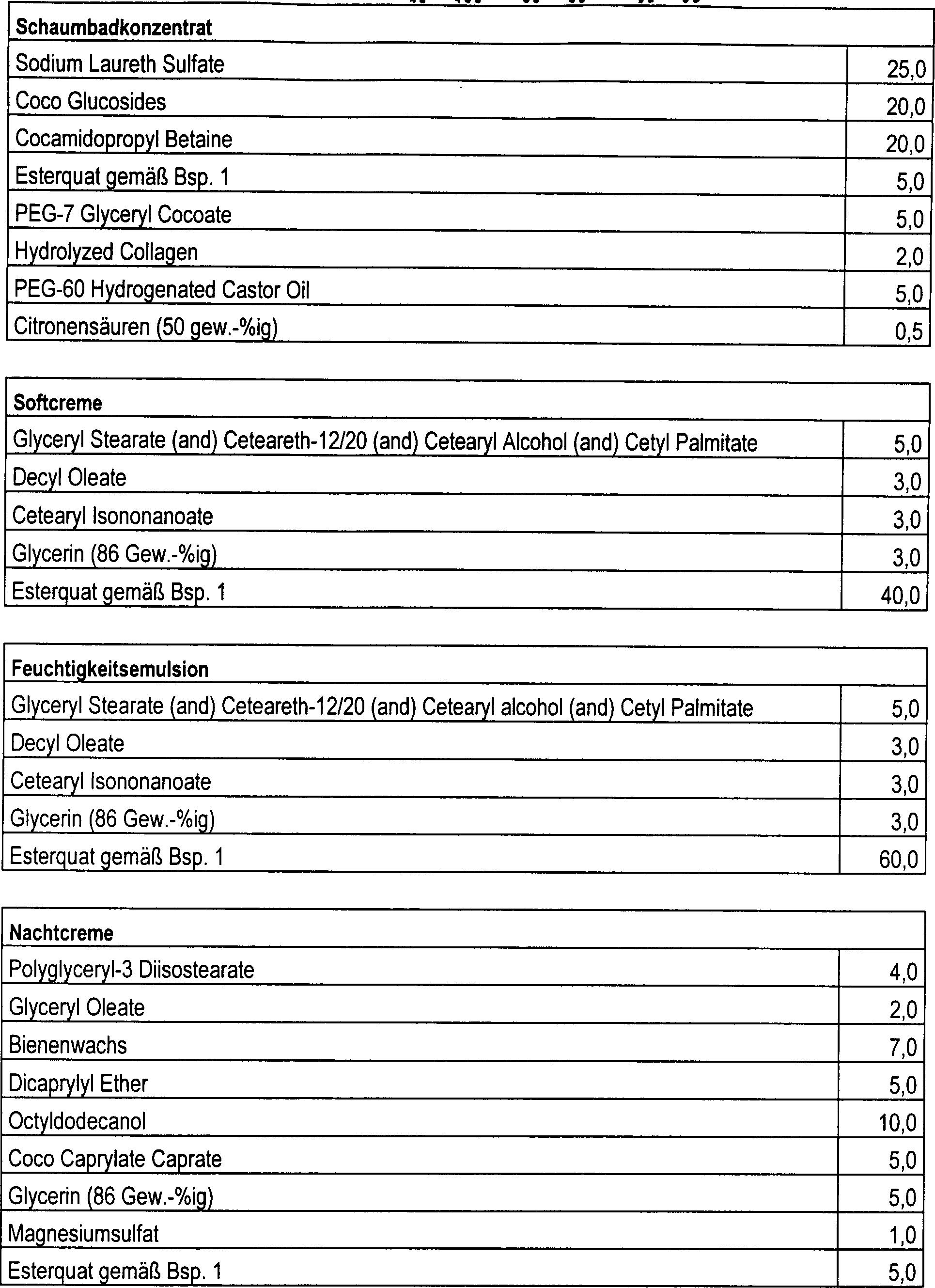 DE19821348B4 - ethoxylated esterquats - Google Patents