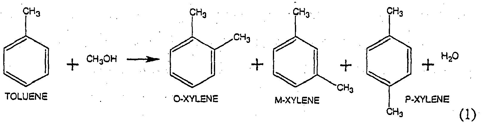 EP1675808B1 - Toluene methylation process - Google Patents