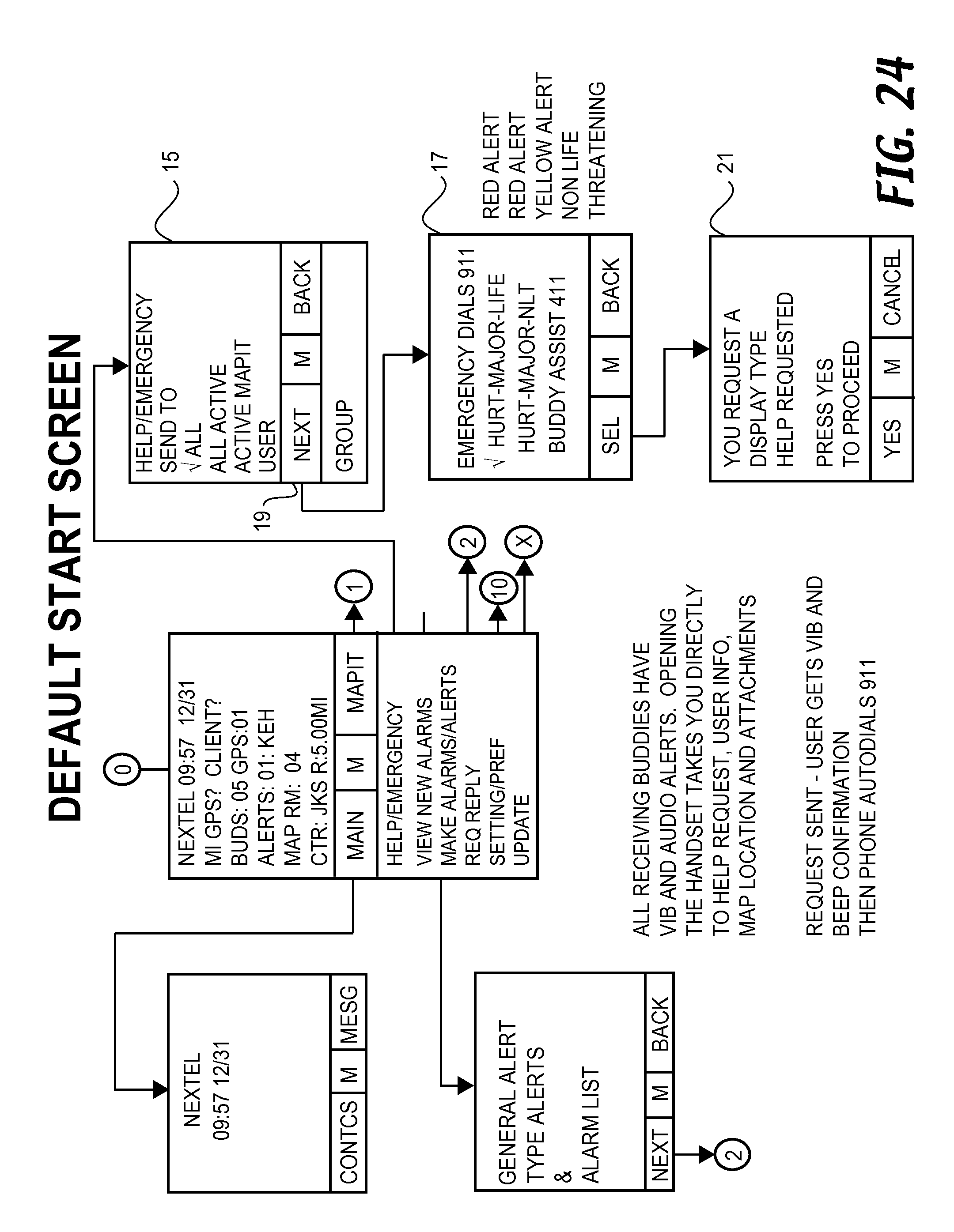 Us8798645b2 methods and systems for sharing position data and us8798645b2 methods and systems for sharing position data and tracing paths between mobile device users google patents fandeluxe Images