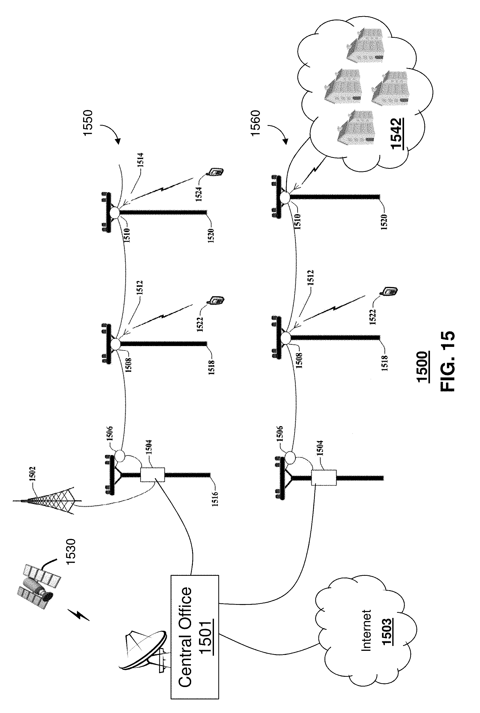 US9871282B2 - At least one transmission medium having a dielectric