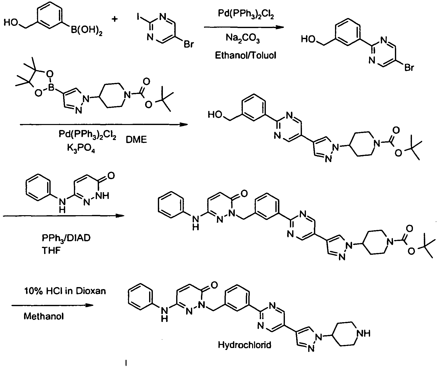 EP2373644B1 - Pyridazinone derivatives - Google Patents