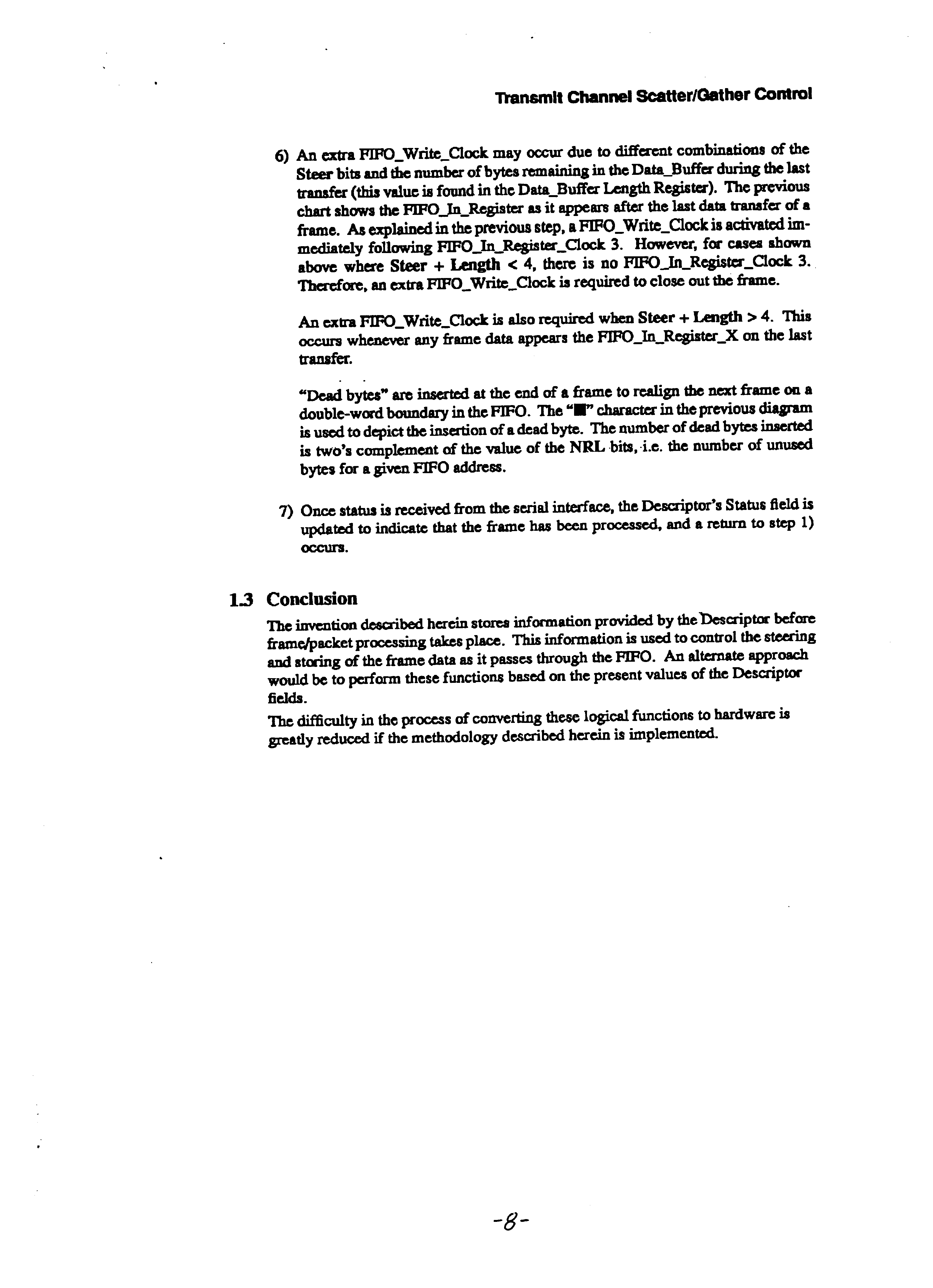 US6185633B1 - DMA configurable receive channel with memory width N