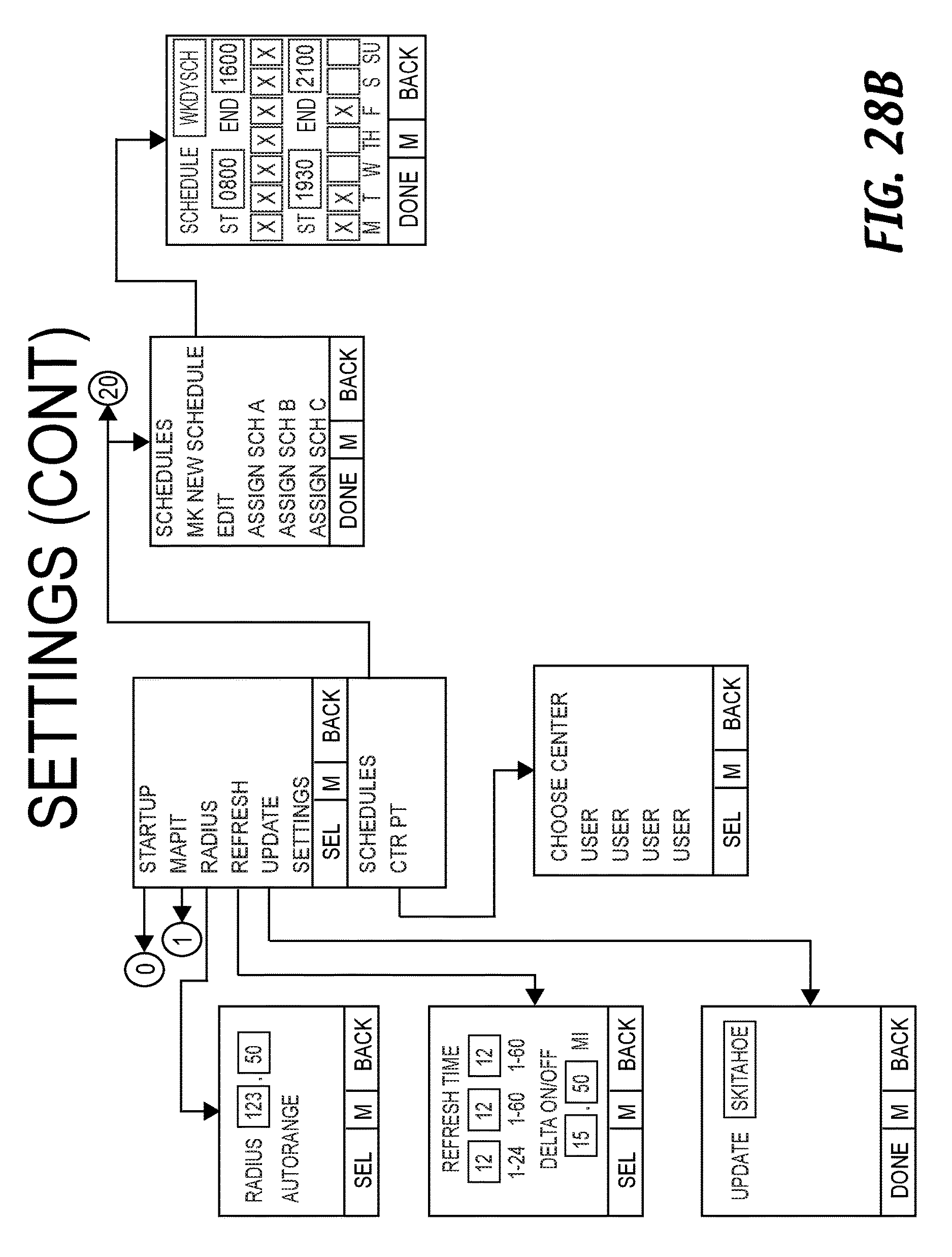 Us9654921b1 Techniques For Sharing Position Data Between First And Radiosparkscomschematics Indexoscillators11 2 2016 Second Devices Google Patents