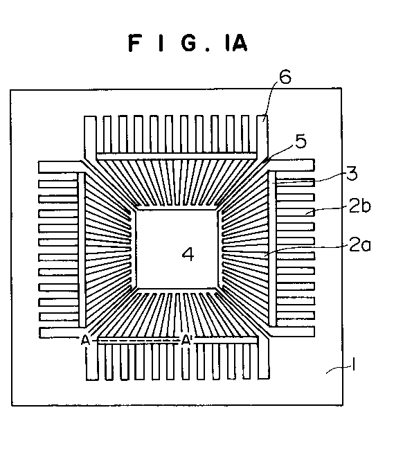 EP0683518A2 - Lead frame and semiconductor device - Google Patents