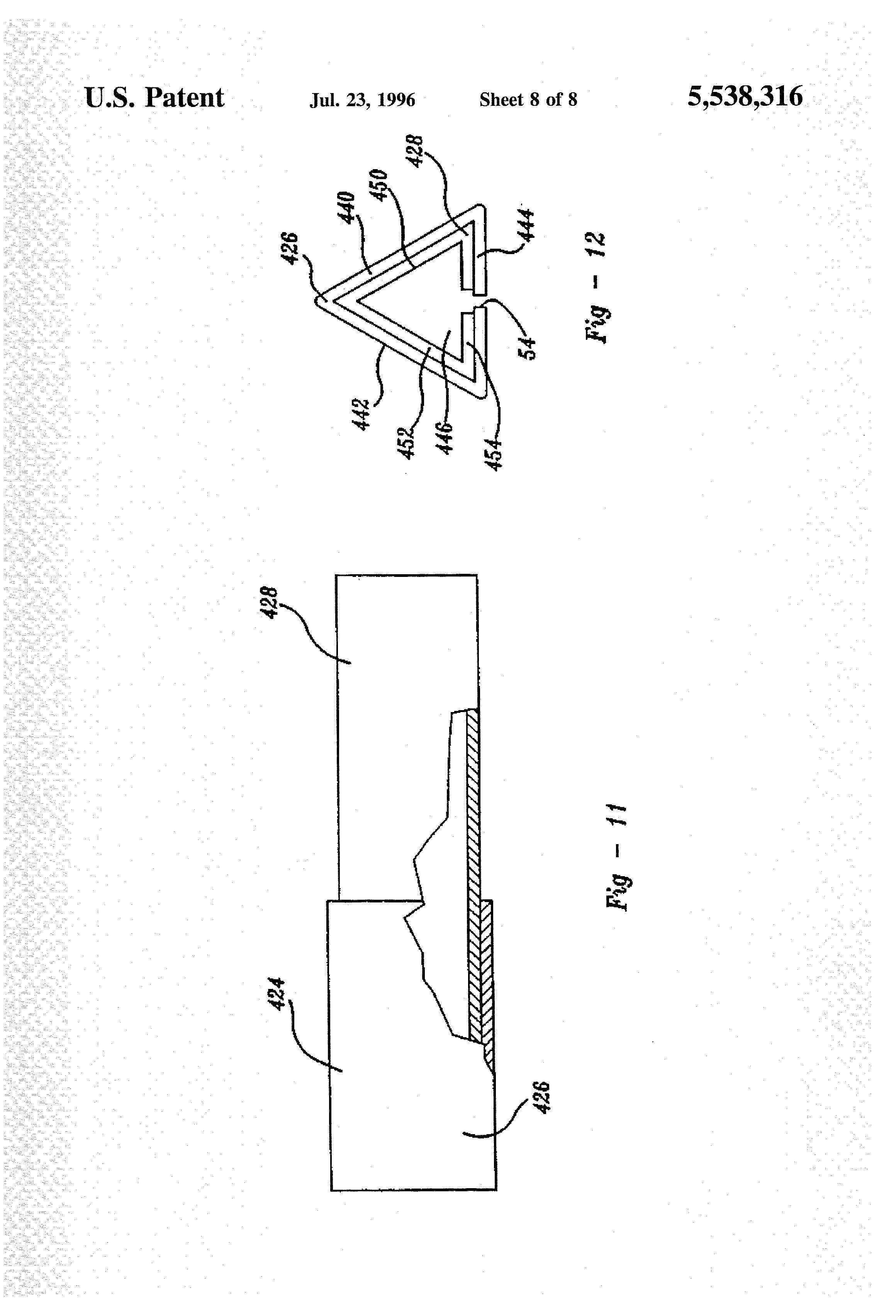 US5538316A - Air movement profiler - Google Patents