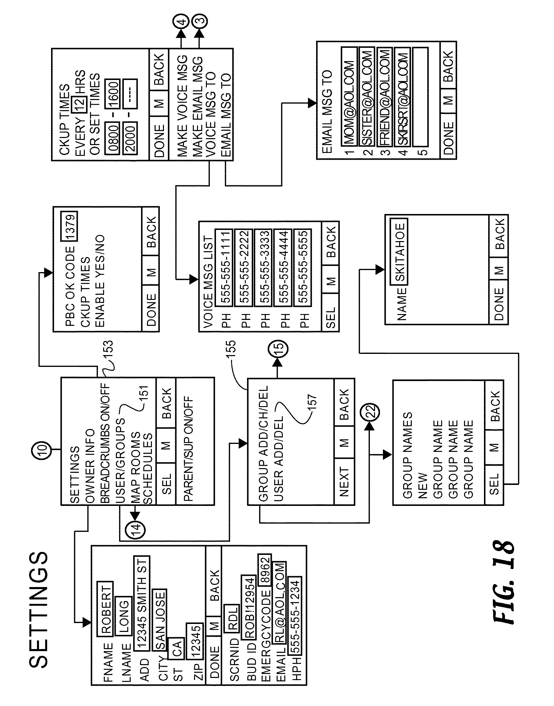 Us9584960b1 Rendez Vous Management Using Mobile Phones Or Other Installing Aeon Labs Micro Dimmer On 4way Circuit Connected Things Devices Google Patents