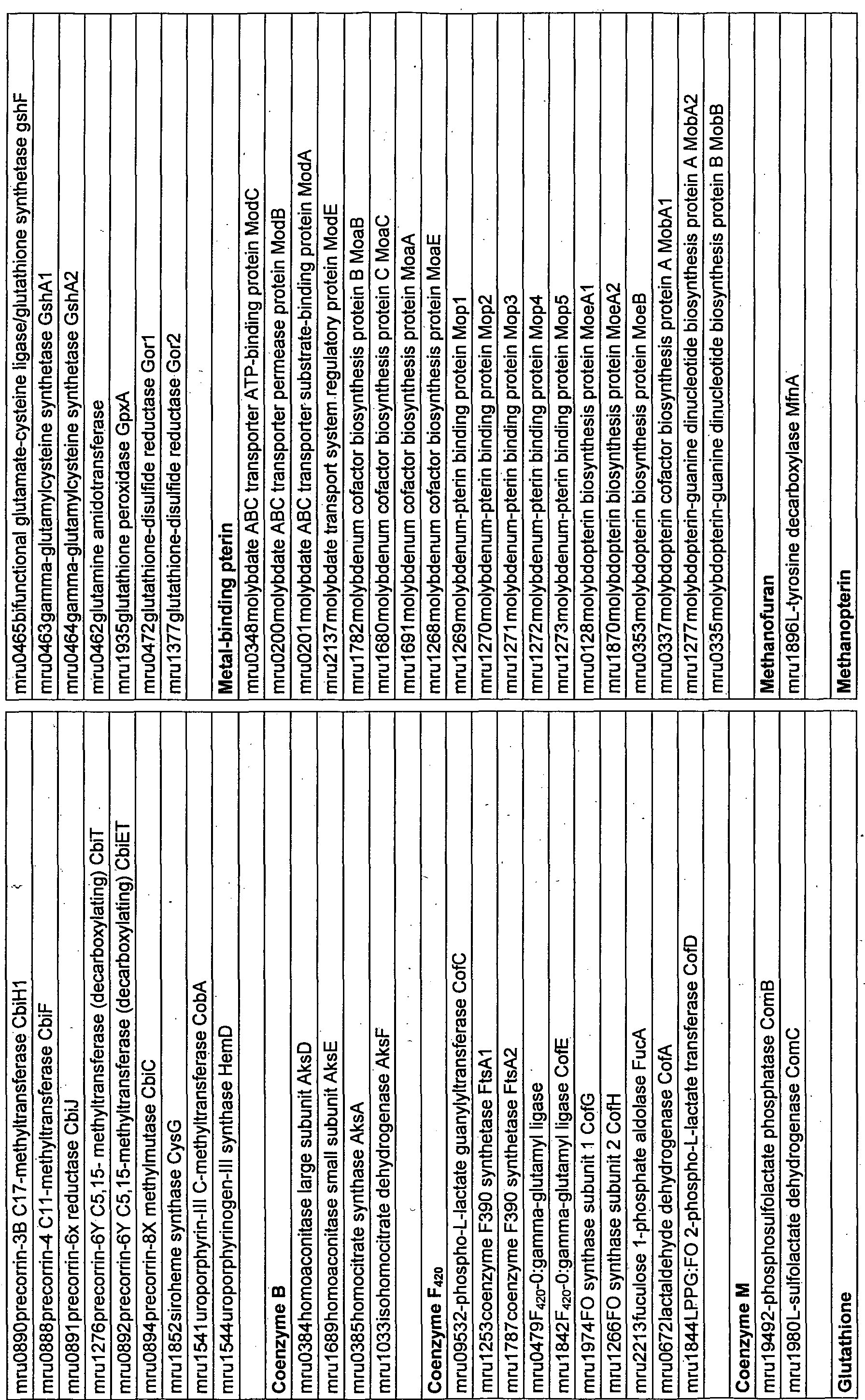 f24a3aeccf6773 WO2011025394A1 - Complete genome sequence of the methanogen ...