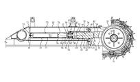 US8528671B2 - Integrated track adjustment/recoil system unit