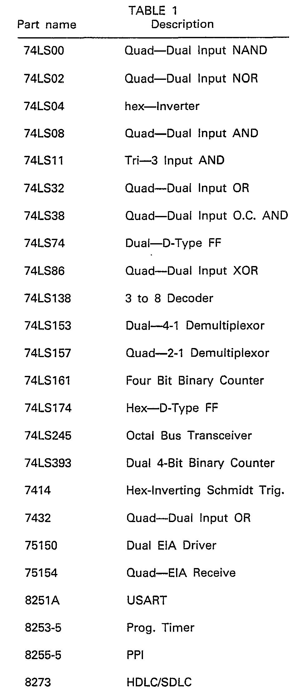 Ep0067310b1 Bisynchronous Protocol Communication Circuit Google Diagram Motorola 2000 Cell Phone Figure Imgb0001