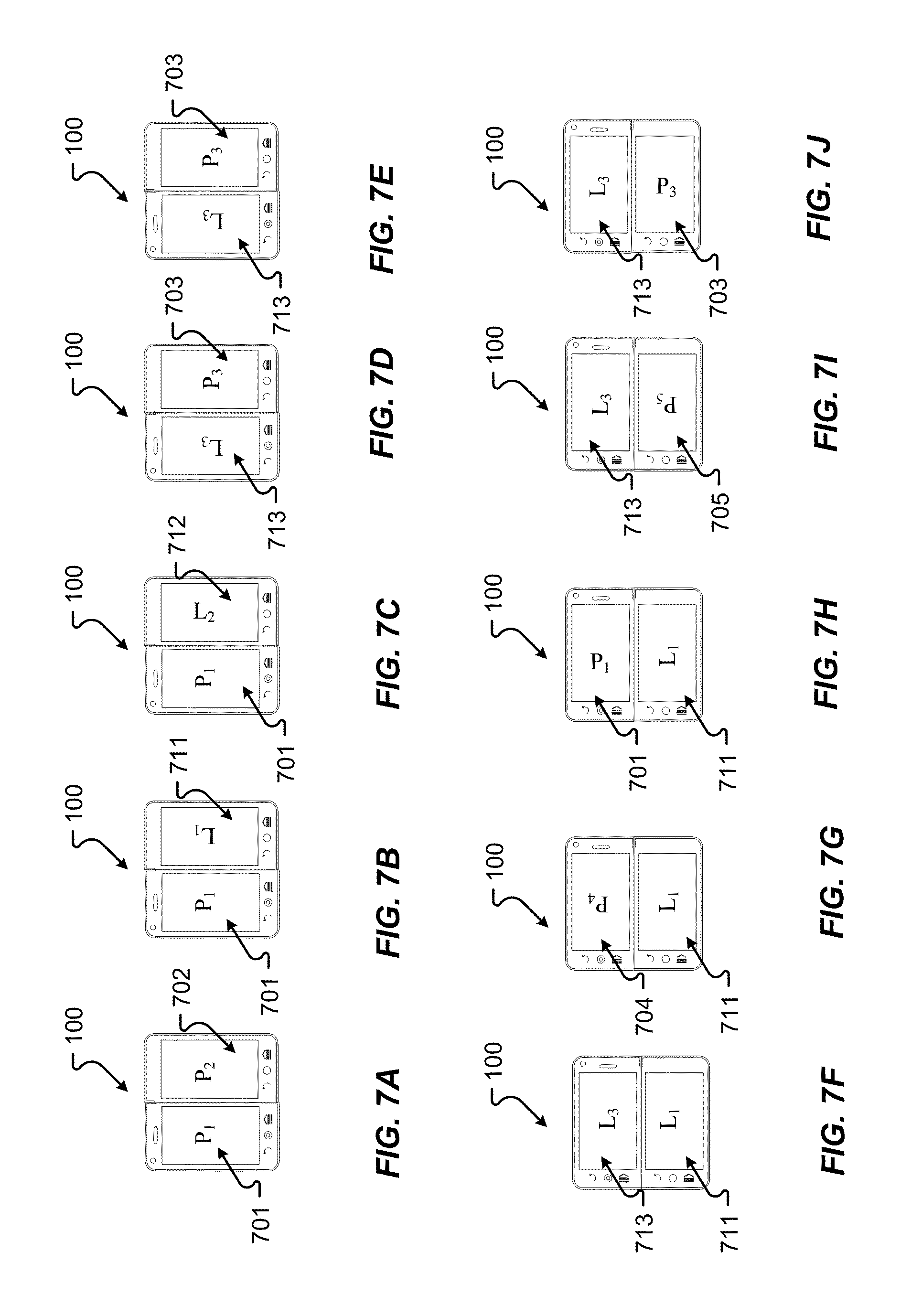 Us20130076677a1 Separation Of Screen Usage For Complex