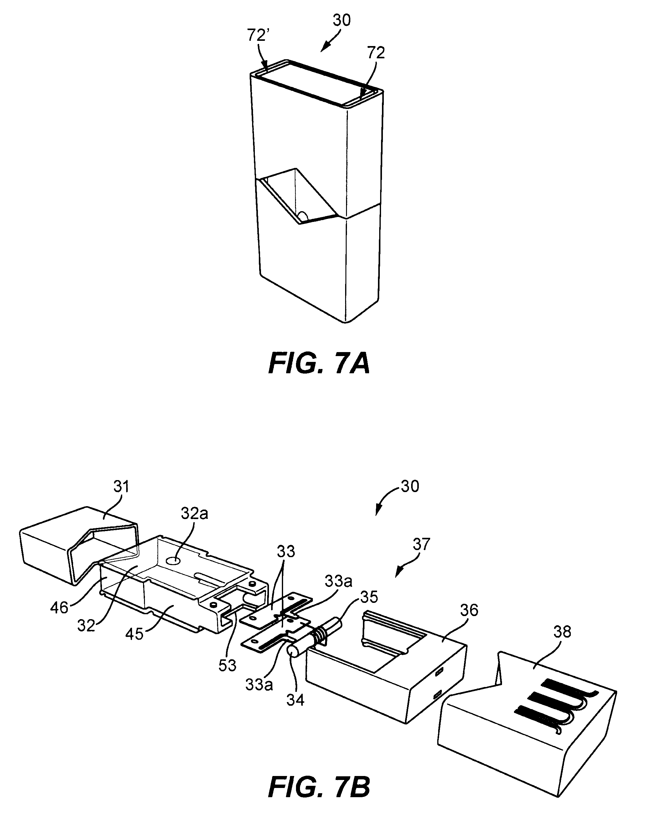US B2 Cartridge for use with a vaporizer device Google