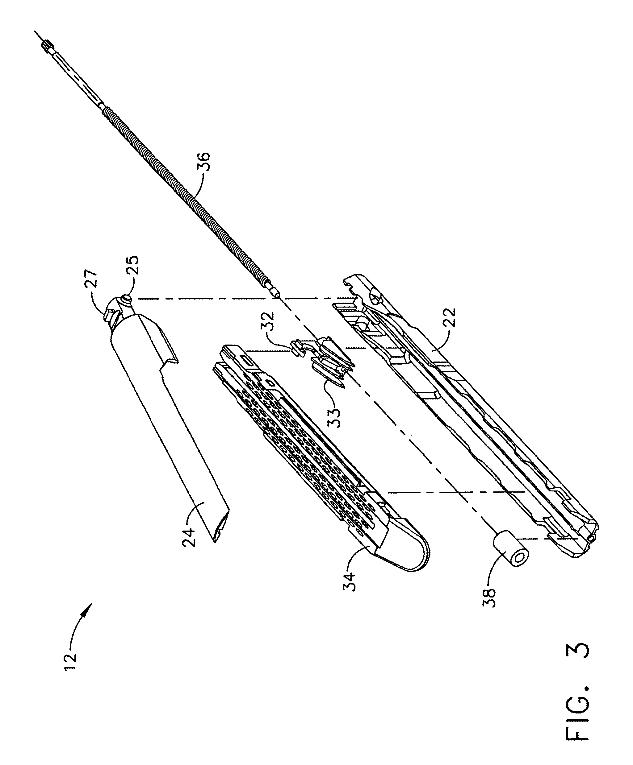 US9451958B2 - Surgical instrument with firing actuator