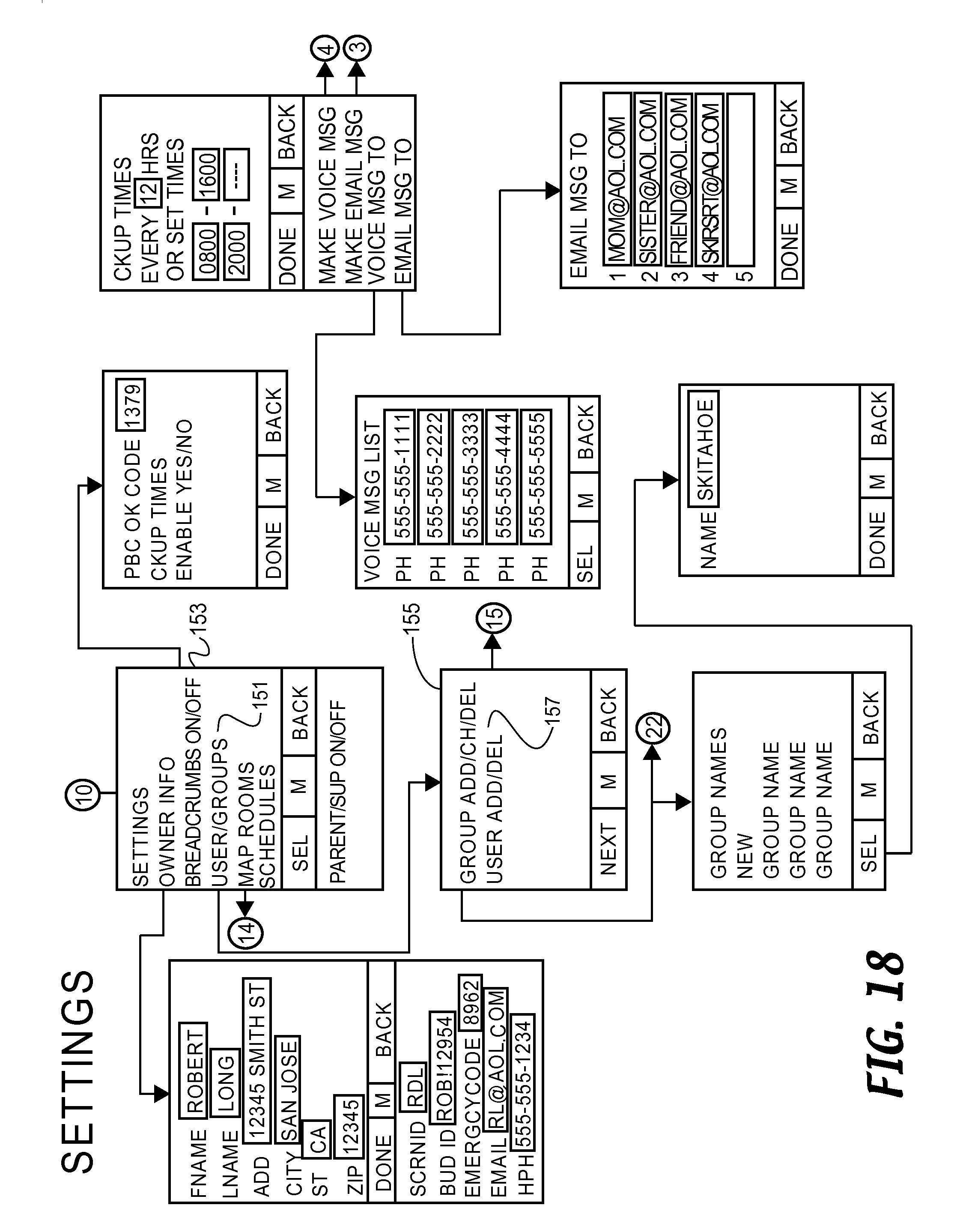 Us20140295895a1 Methods And Systems For Sharing Position Data Clifford Matrix 1 Wiring Diagram Between Subscribers Involving Multiple Wireless Providers Google Patents