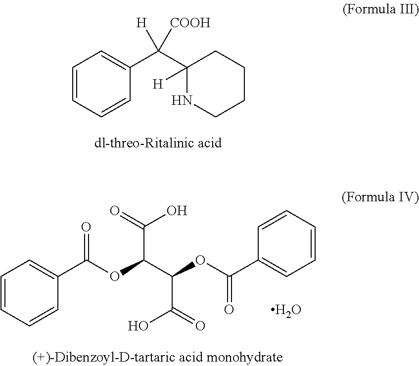 Us8552030b2 Process For The Preparation Of D Threo Ritalinic Acid