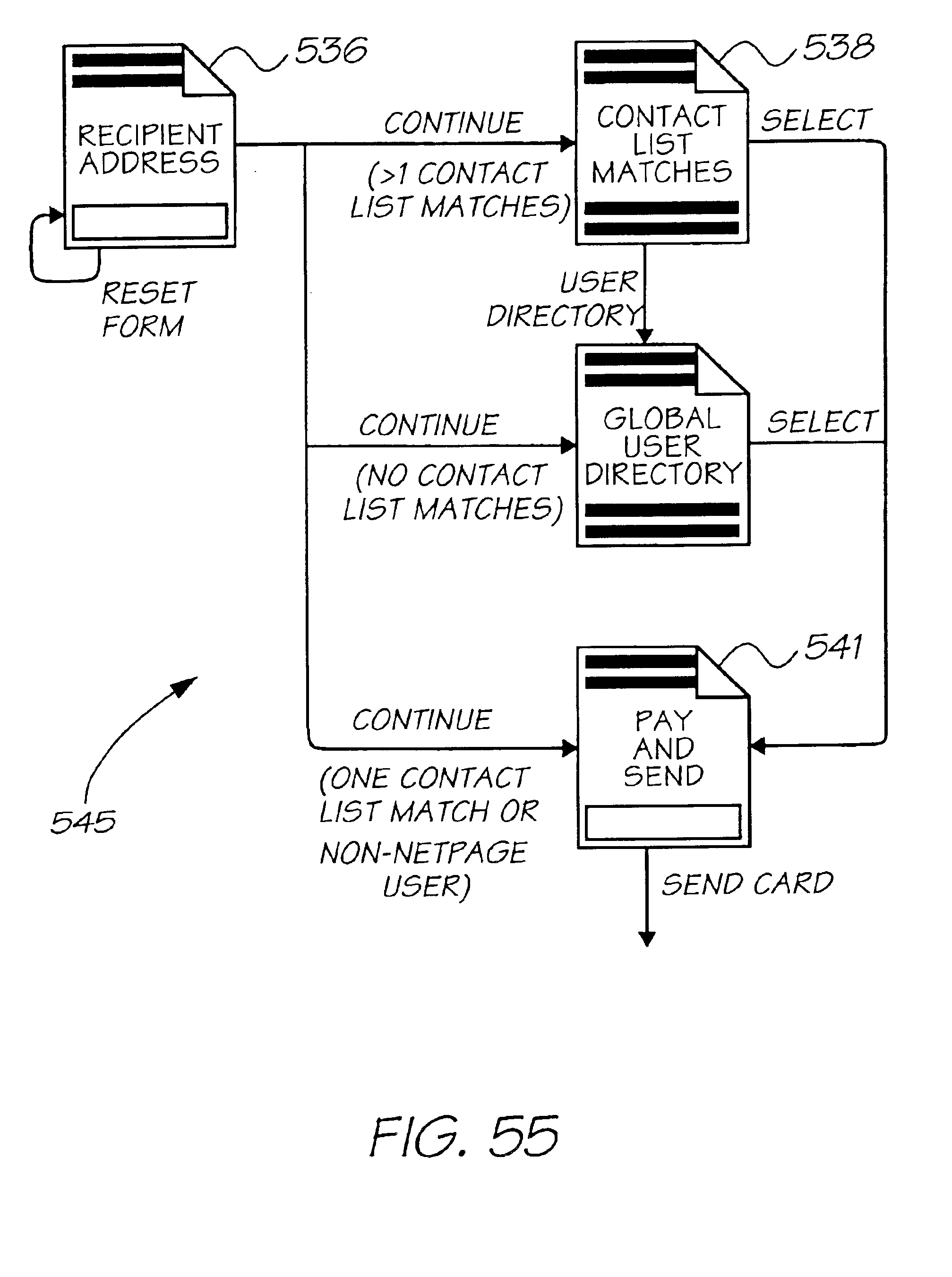 US6980318B1 - Method and system for delivery of a greeting