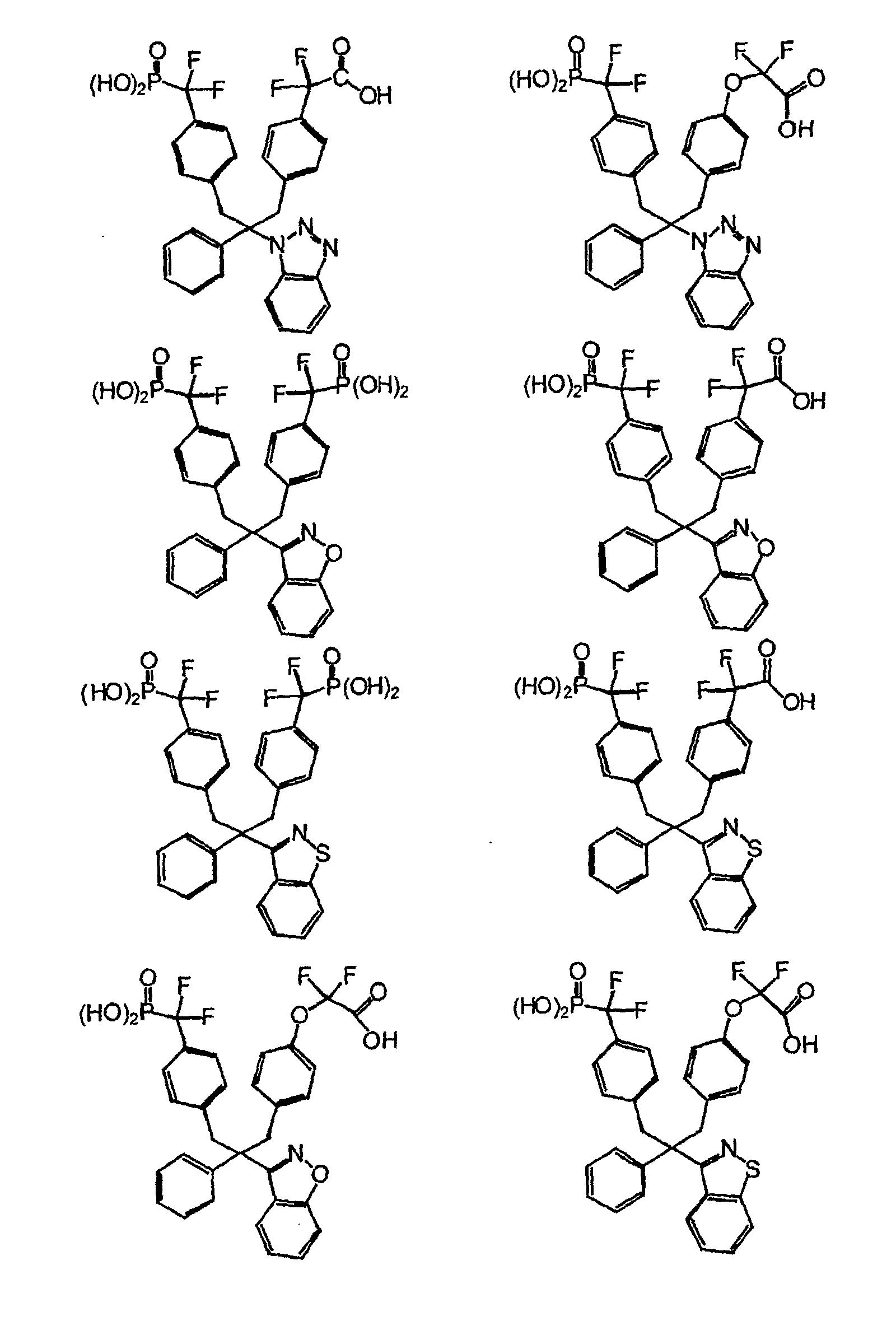 EP1115729B1 - Phosphonic acid derivatives as inhibitors of