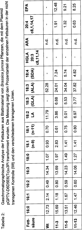 DE102005038036A1 - A process for the production of arachidonic acid ...