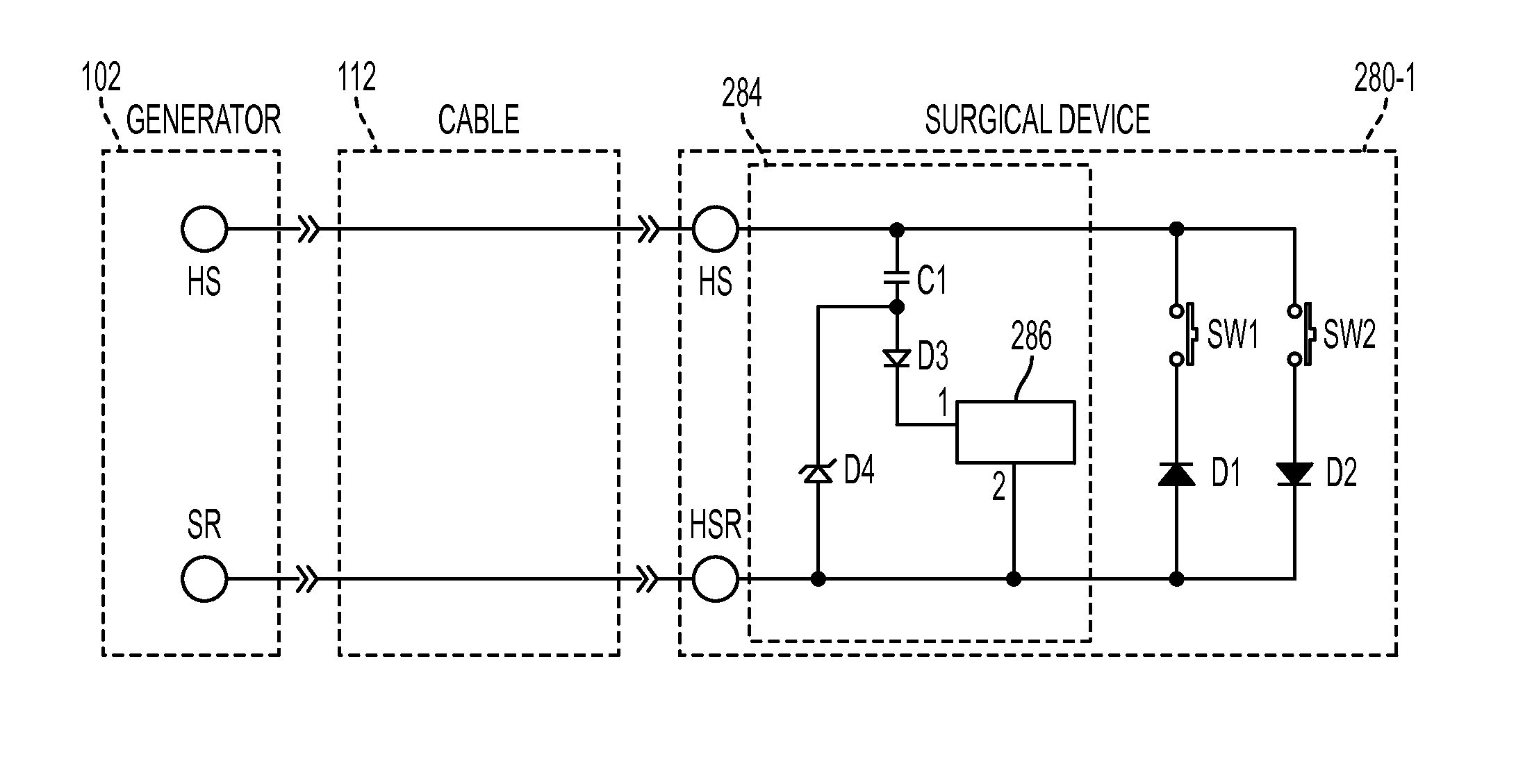 US8986302B2 - Surgical generator for ultrasonic and