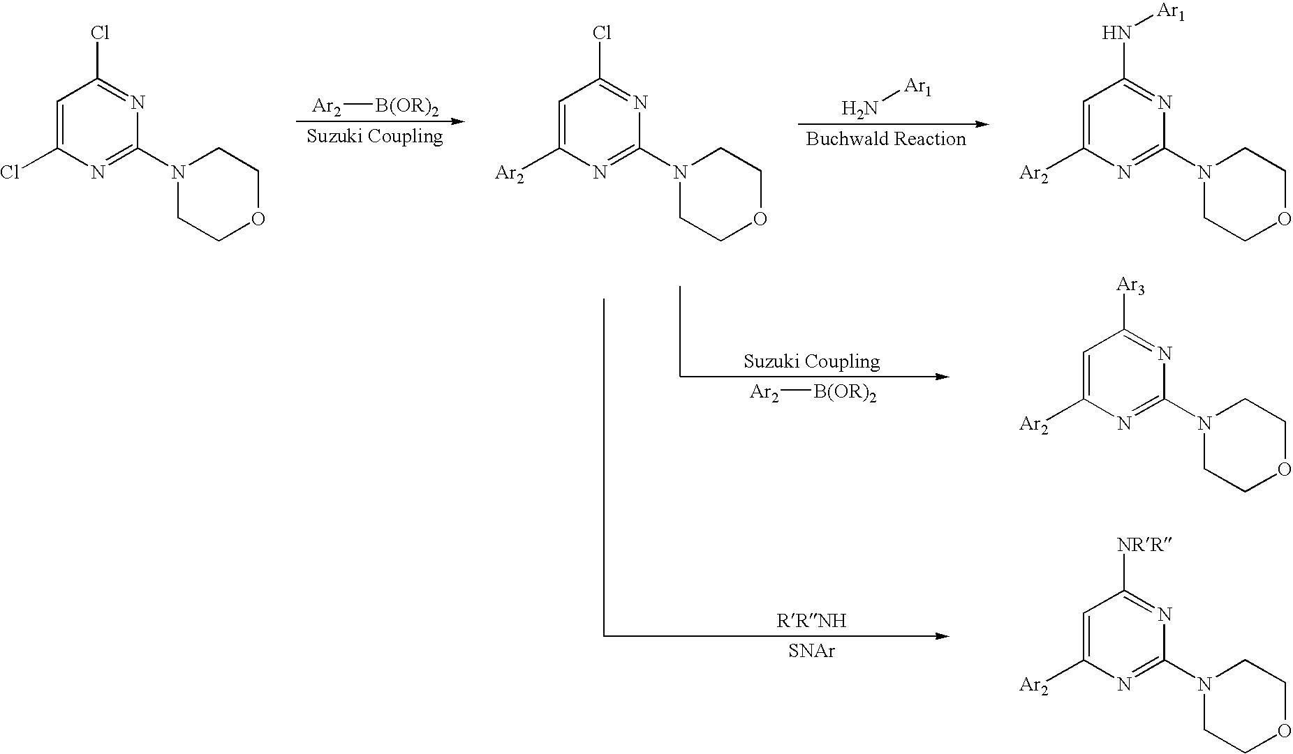 US20100249126A1 - Pyrimidine derivatives used as pi-3-kinase