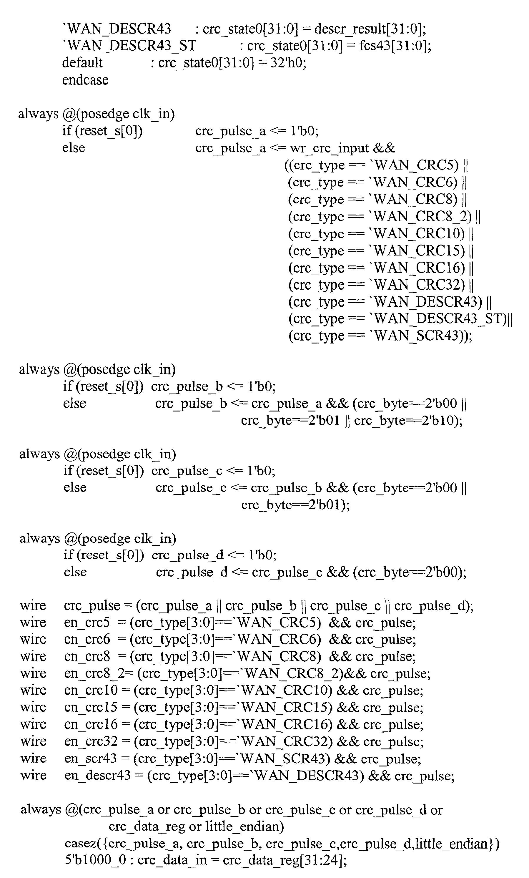 Crc8 C Code