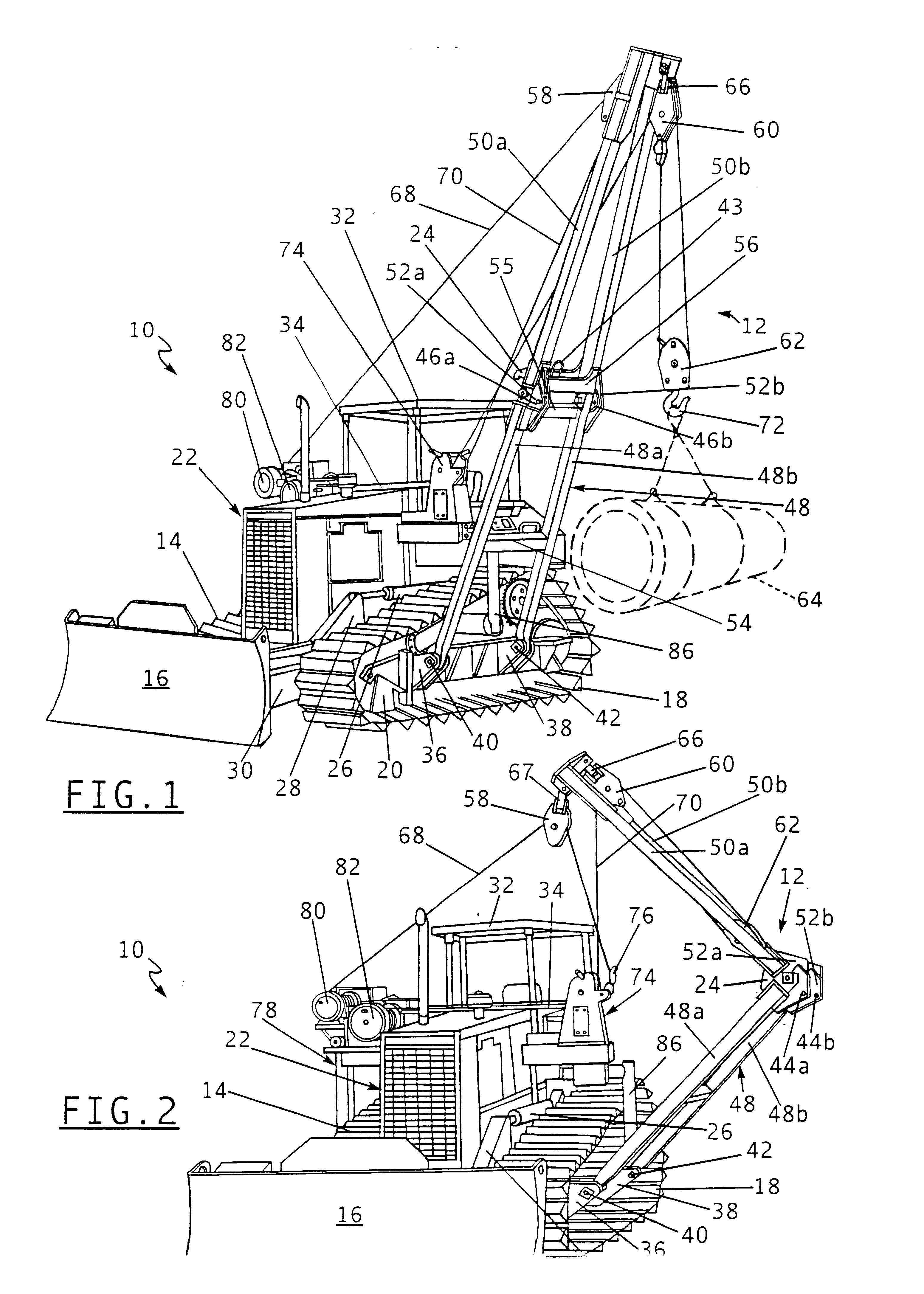 posatubi  pipelayer-posatubi US06609622-20030826-D00001