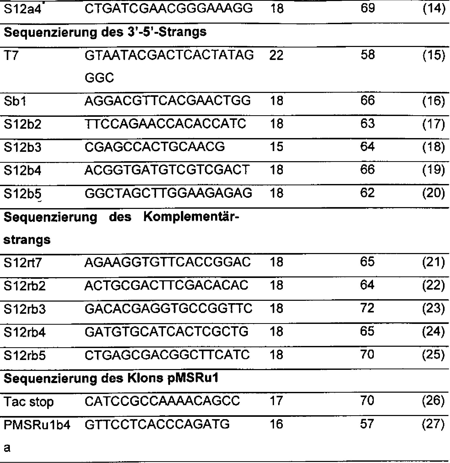 DE10149715B4 - Esterase EstA aus Rhodococcus ruber - Google Patents
